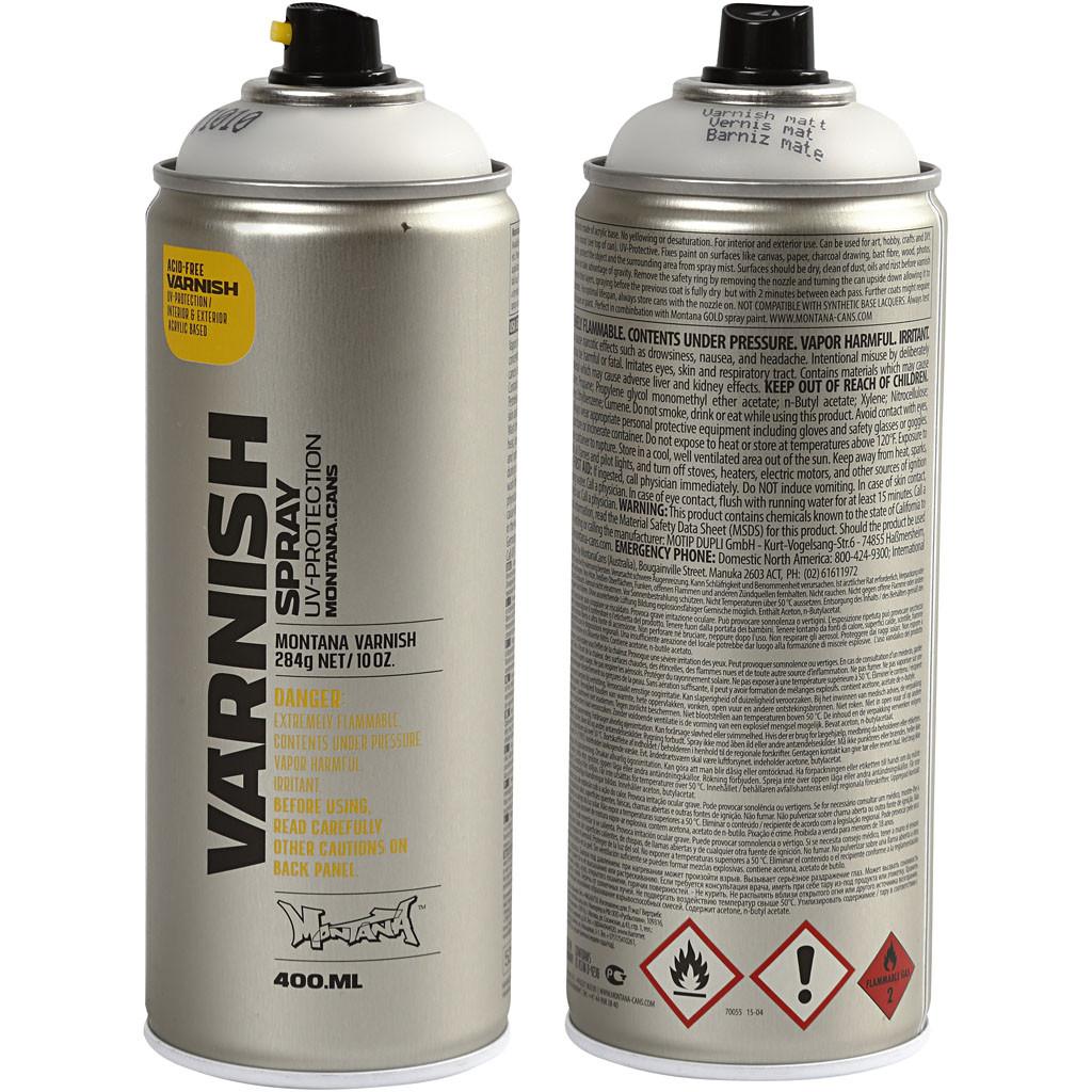 Spraylack matt 400 ml, UV skyddande