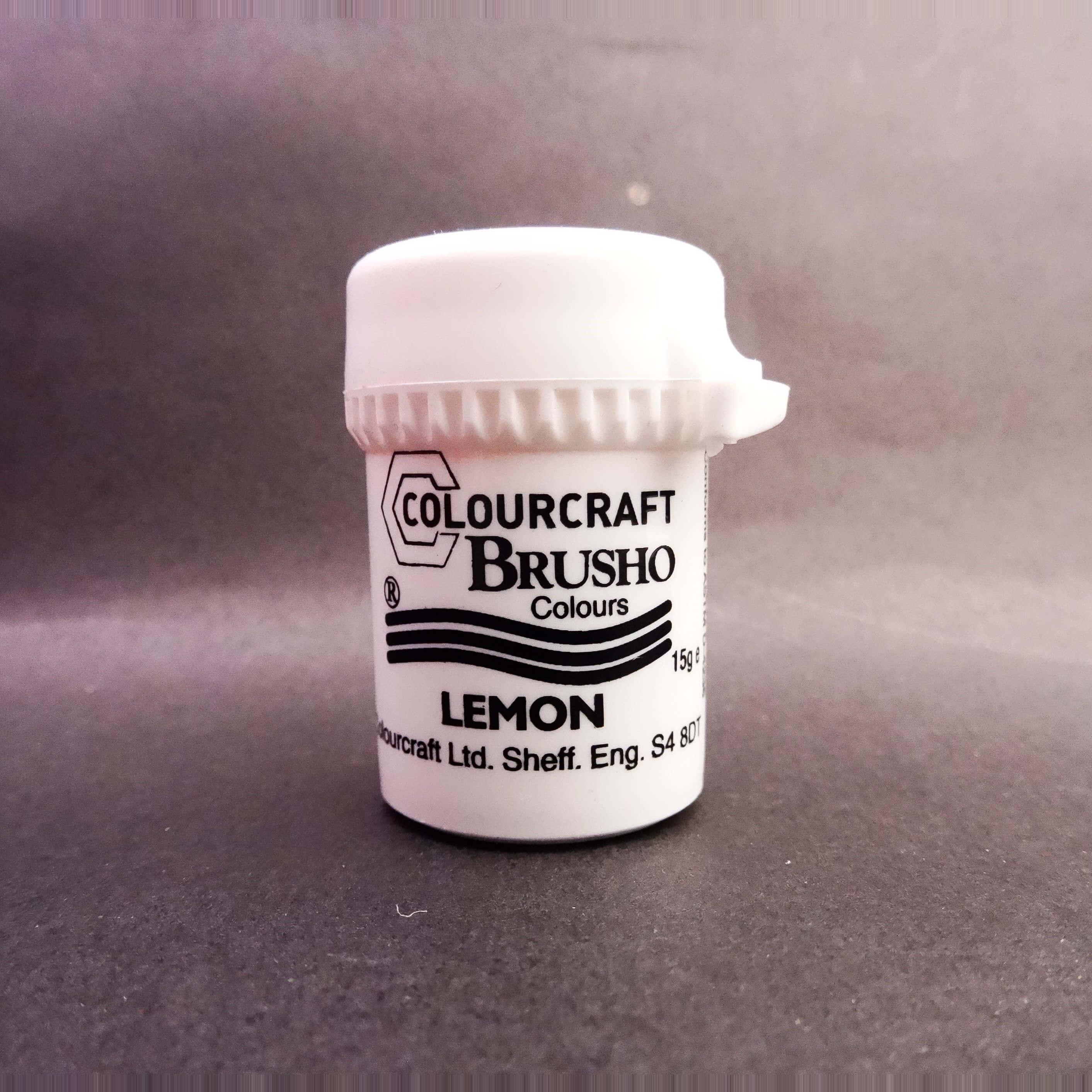 Brusho Lemon 15 ml