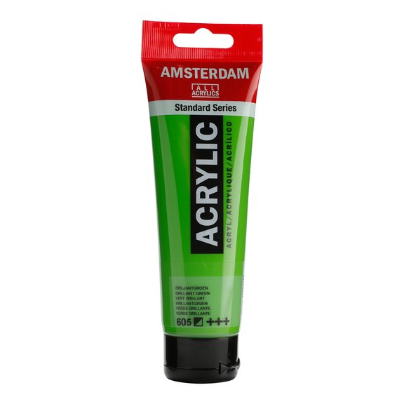 Amsterdam Brilliant Green 605, 120 ml