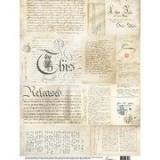 Newspaper, silkespapper, 0304, A3