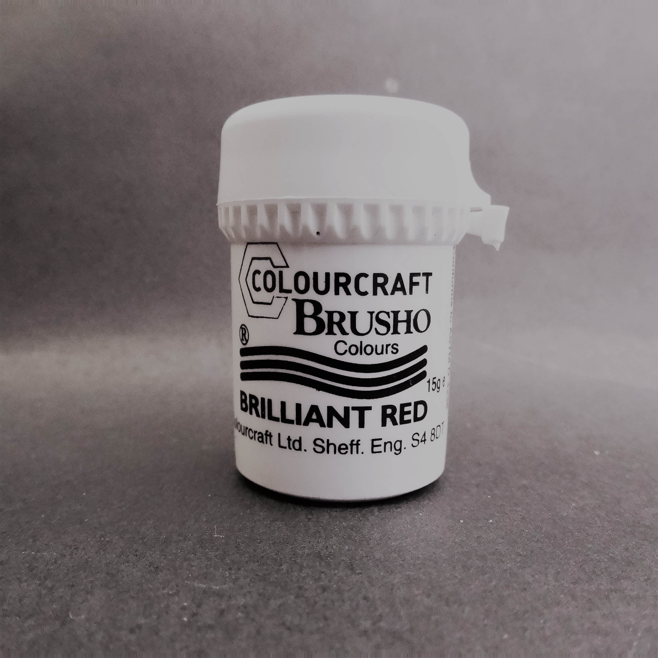 Brusho Brilliant Red 15 ml