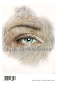 0380, Laserprint the eye of hope A4