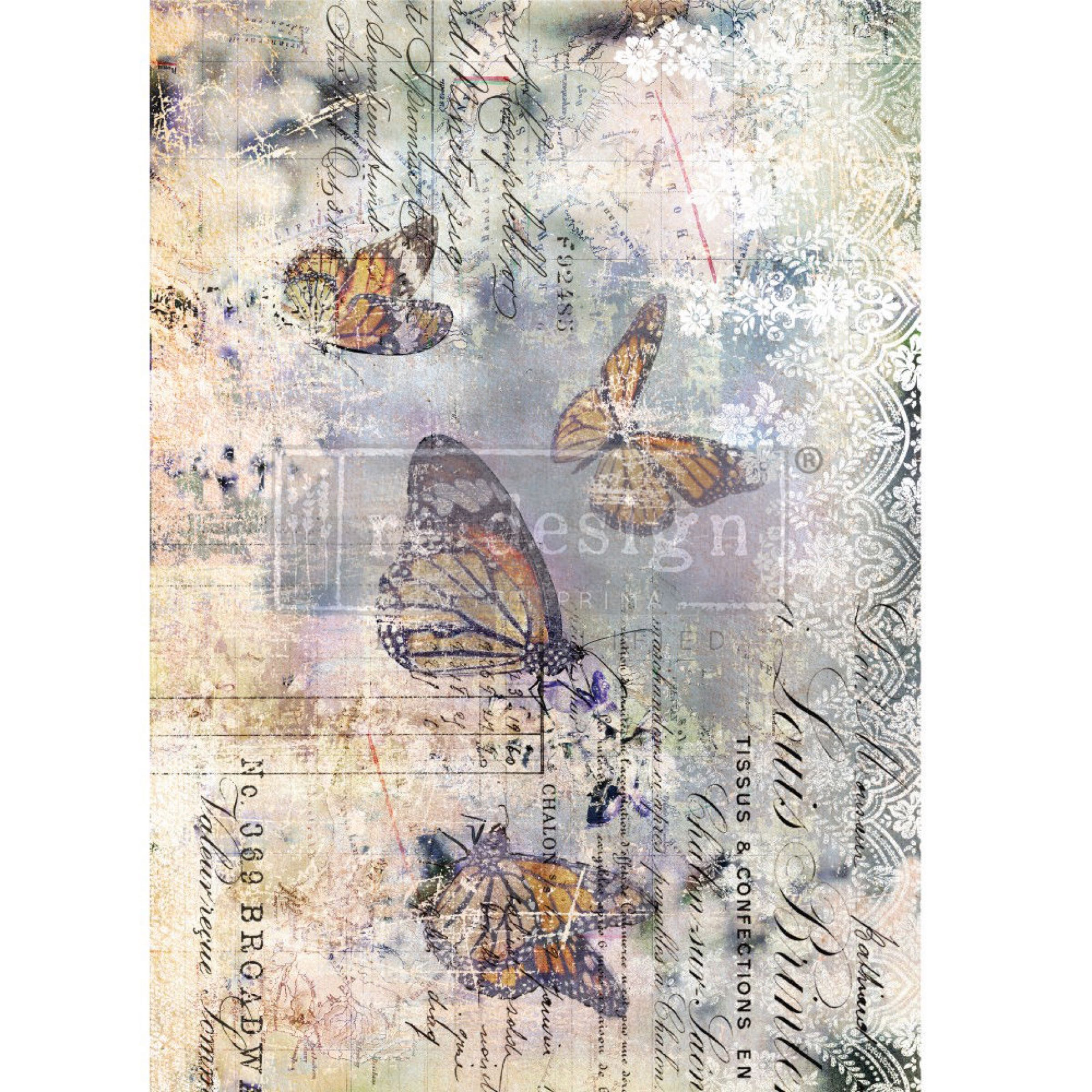Re-Design with Prima Decor Transfer - Monarch Grace