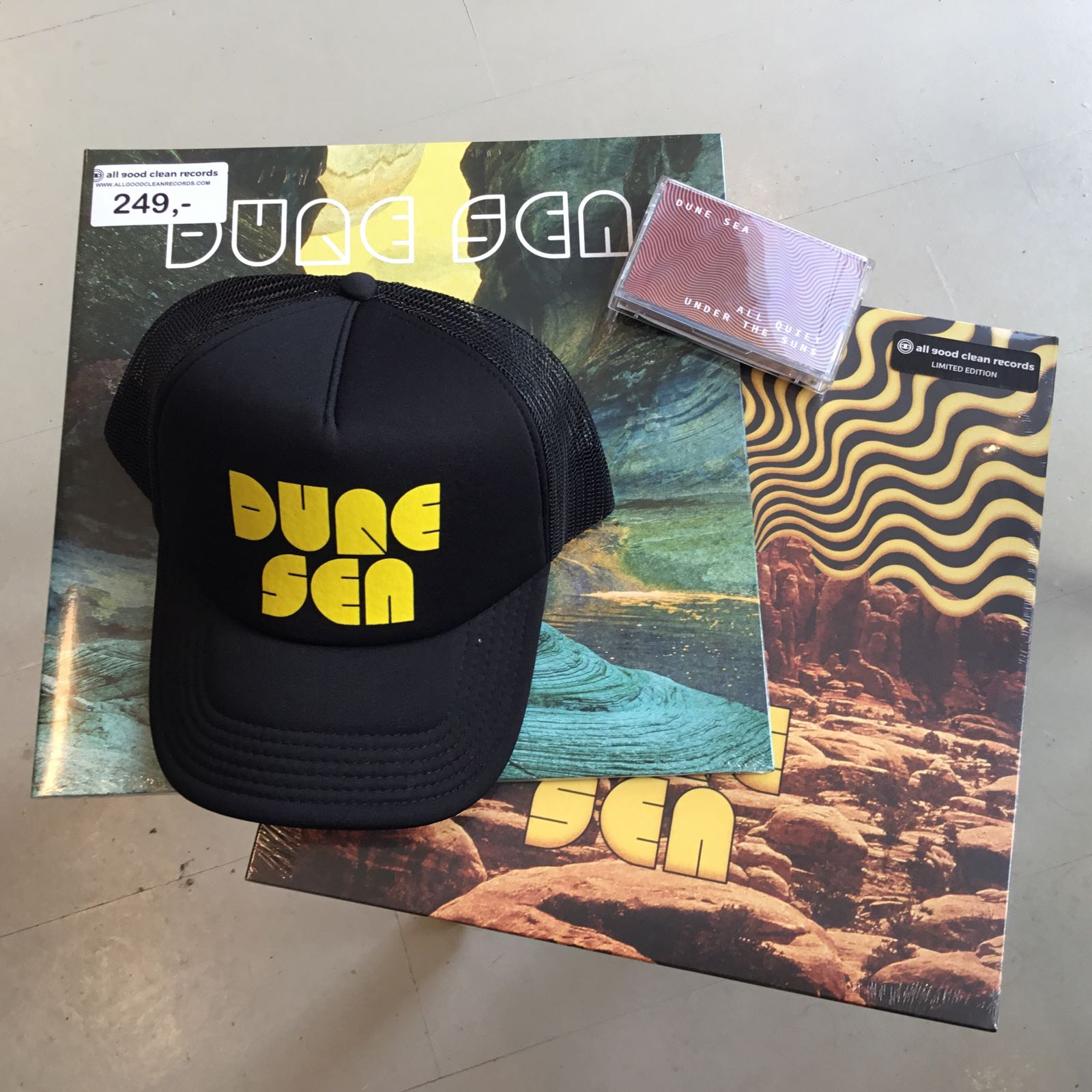 Dune Sea – Bundel [MC+LP+LP+CAP]