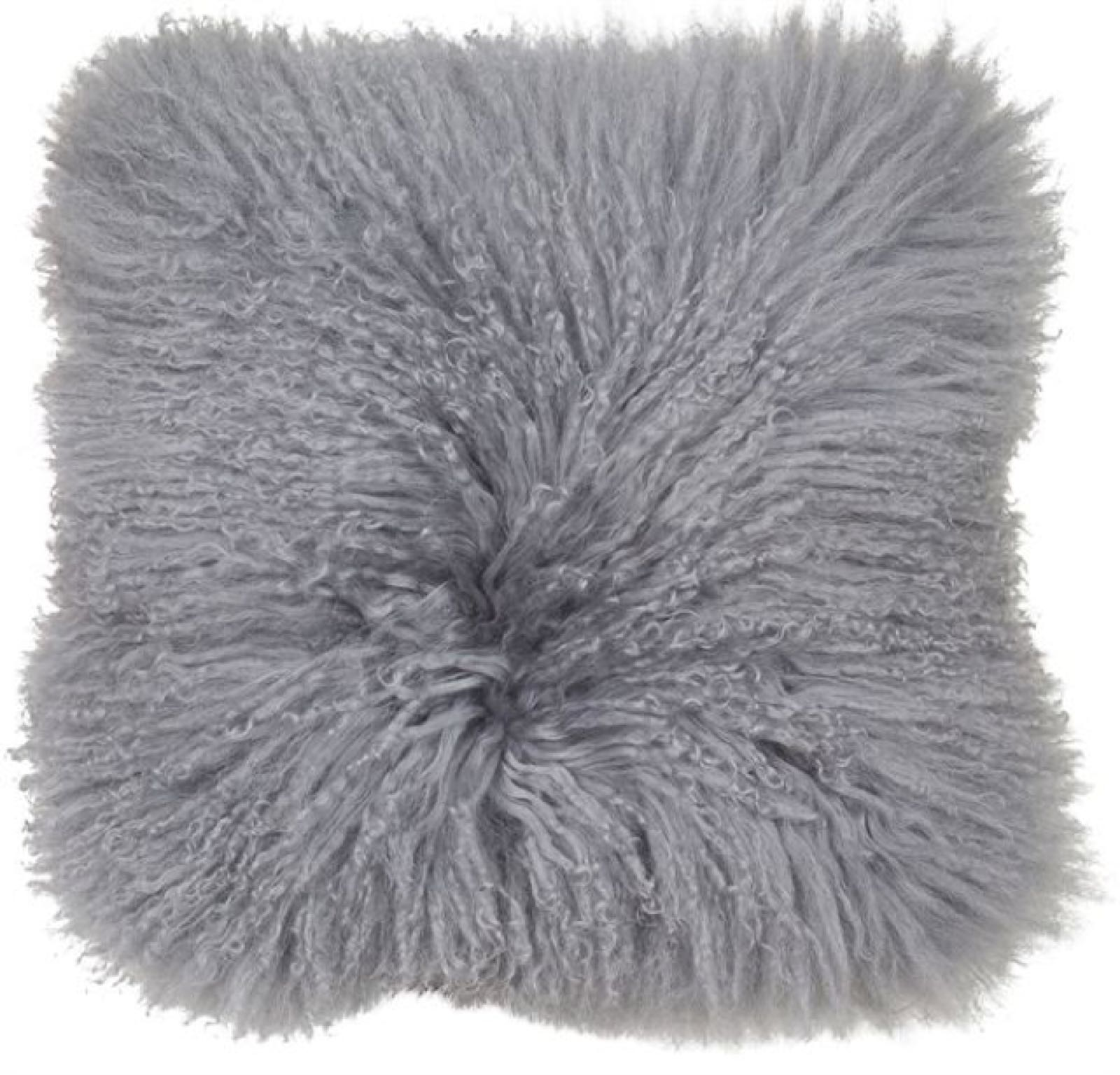 00626 Mongolian grey cushion
