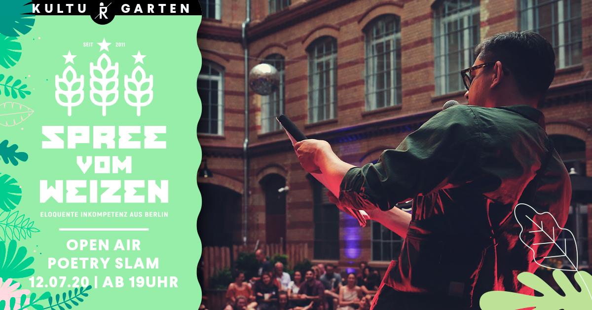 12.07.2020 Spree vom Weizen Poetry Slam