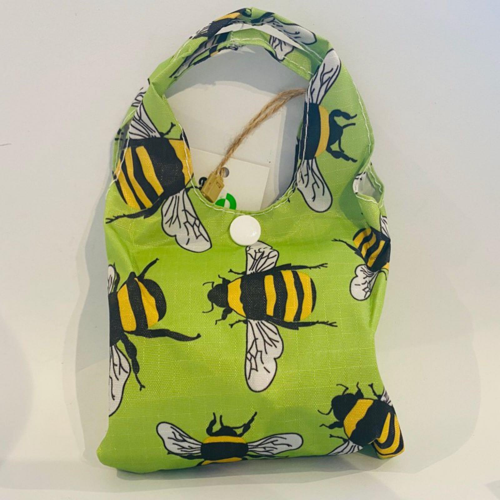 Bees Foldaway Shopper