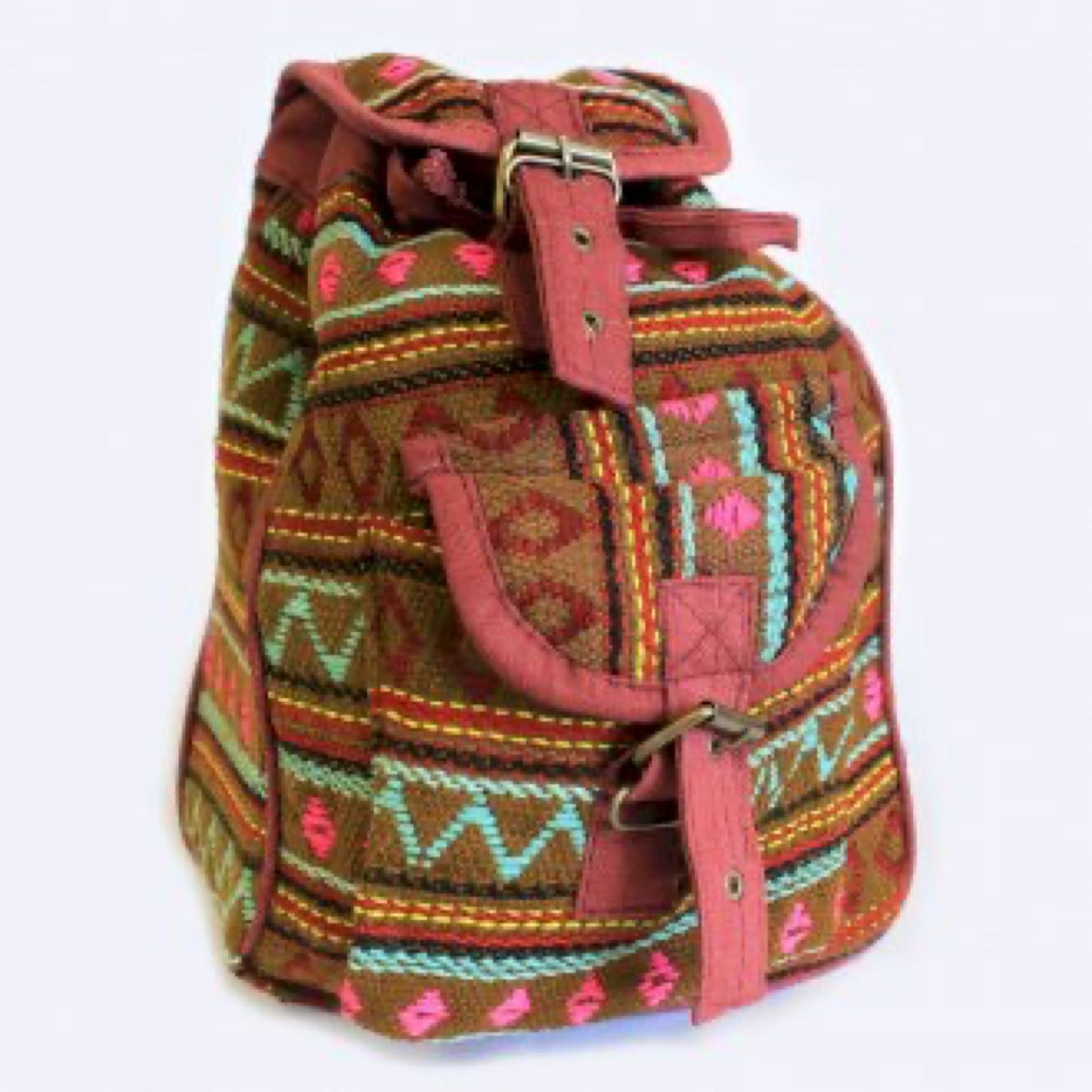 Olive Nepali Backpack