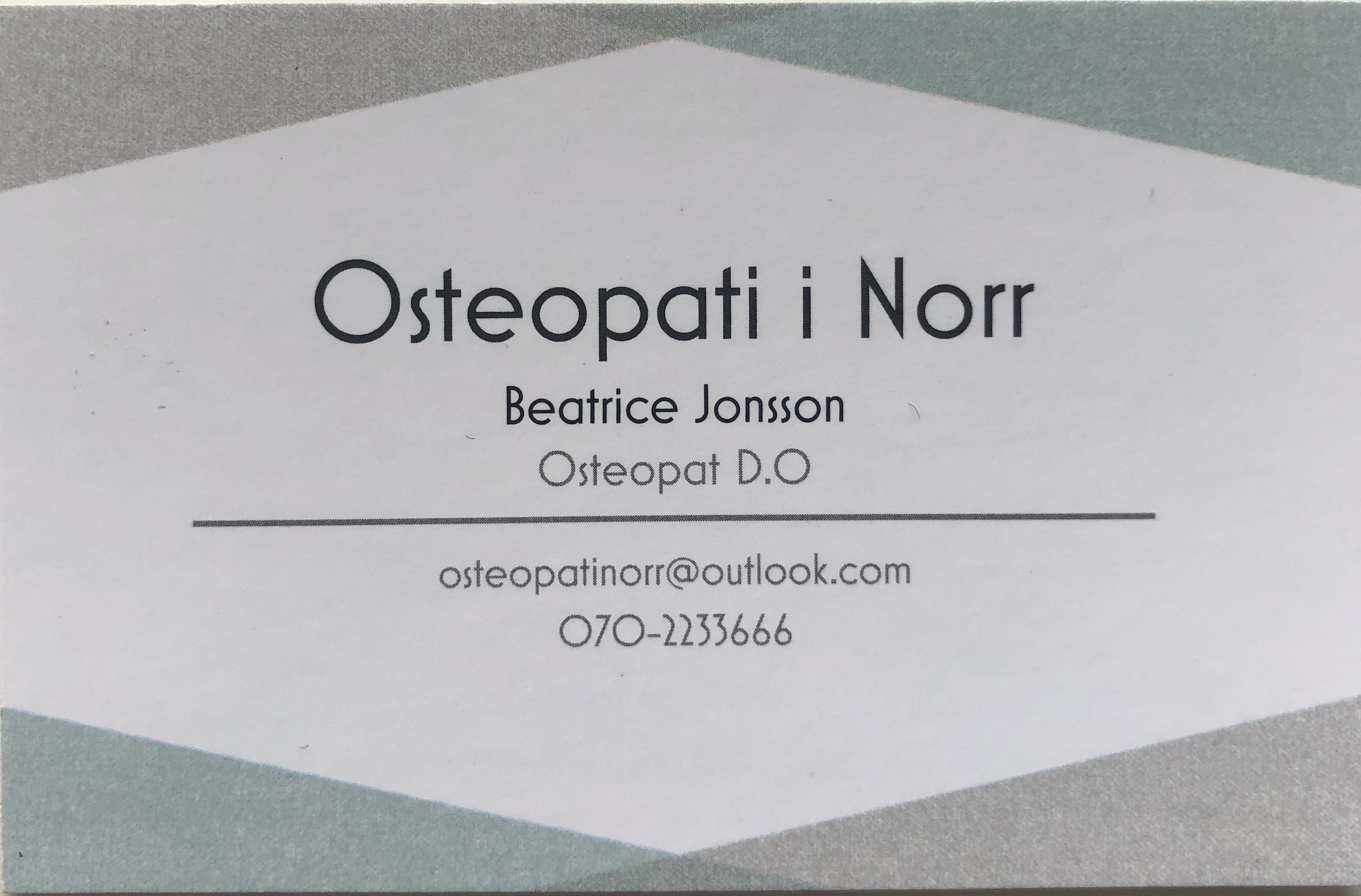 Osteopati i Norr