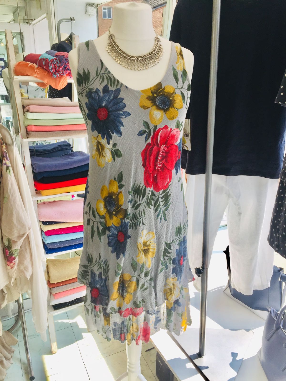 Cotton & Linen Blend Sundresses