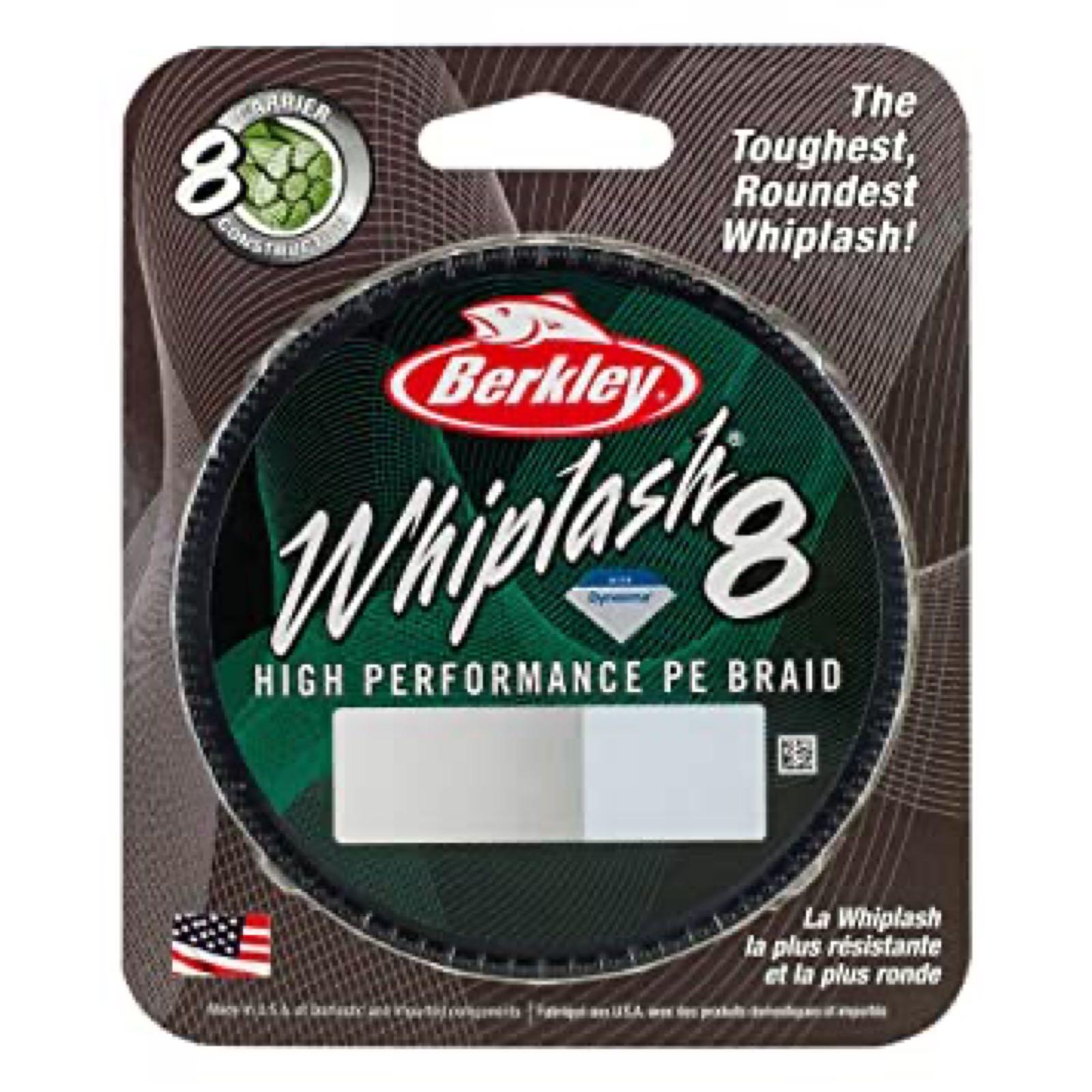 Berkley Whiplash 8 Crystal Braid