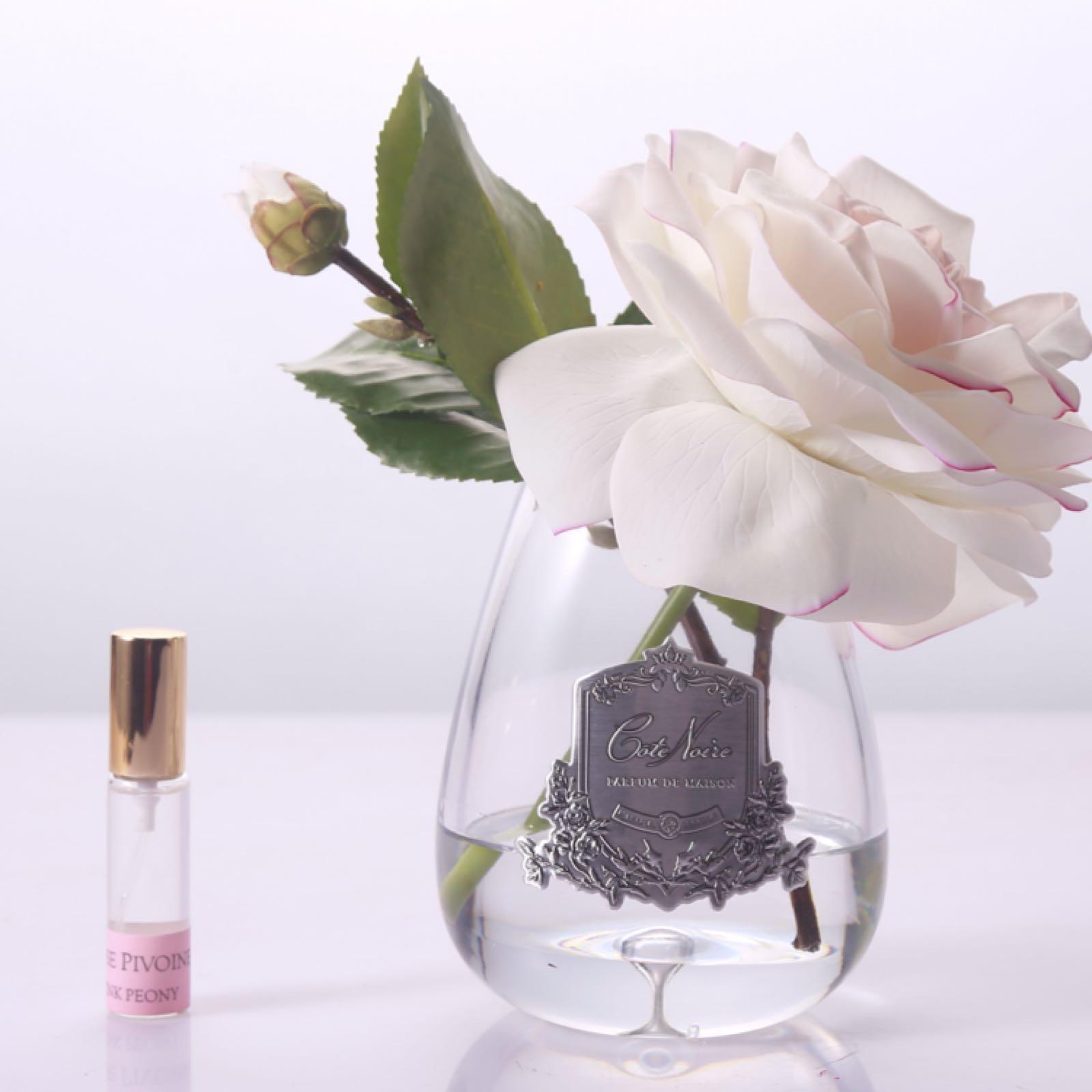 Cote Noire Ivory tea rose