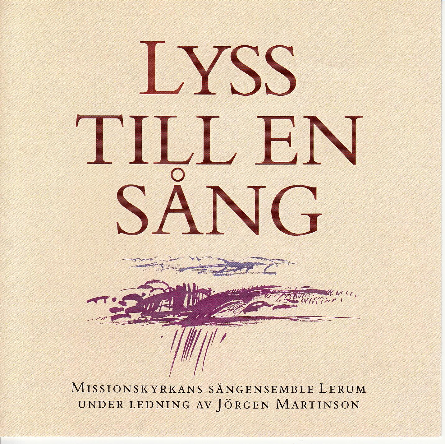 Jörgen Martinson - Lyss till en sång - CD