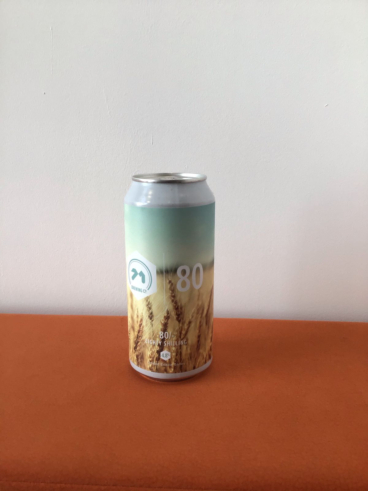 71 Brewing: 80 shilling