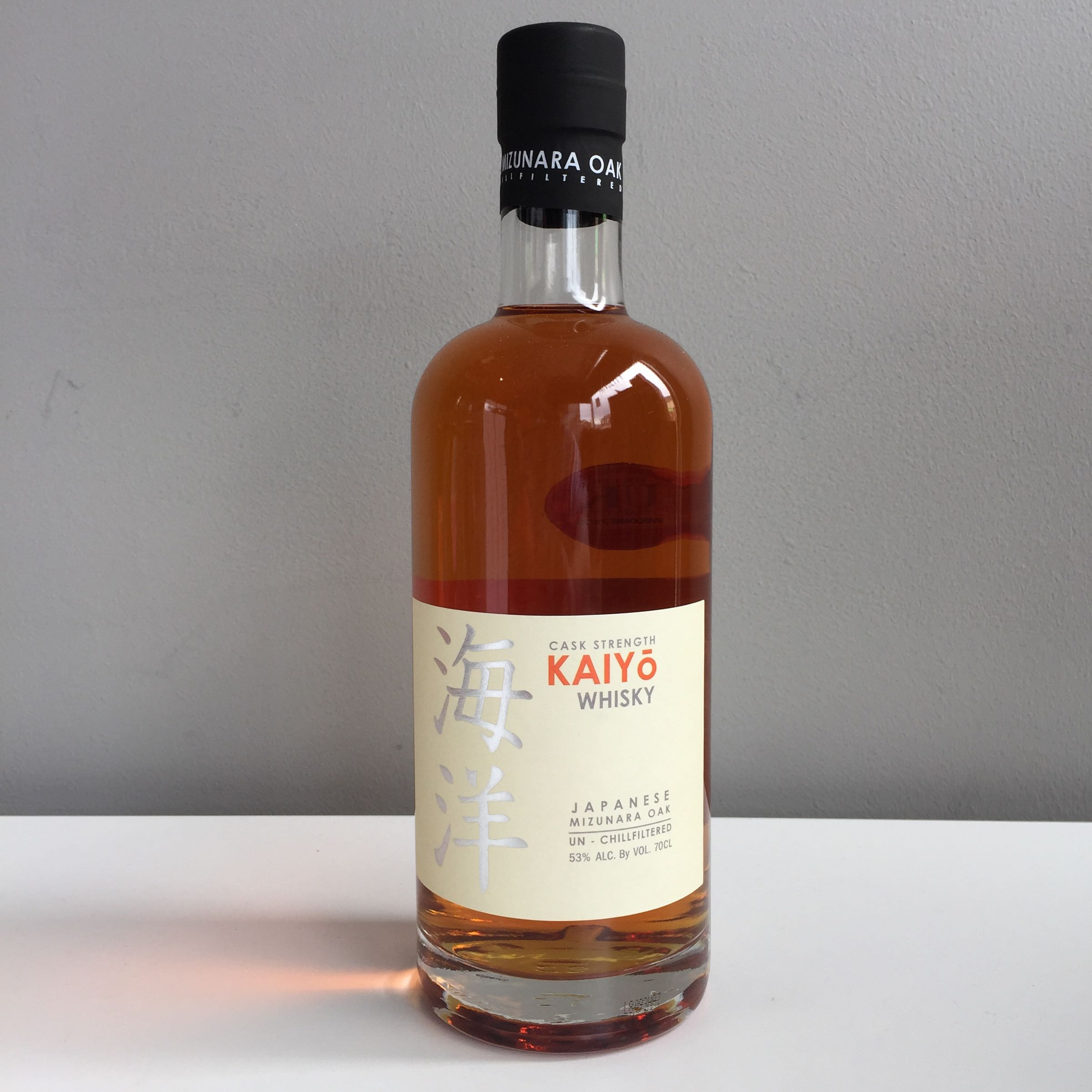 Kaiyo Whisky, Japanese, 70cl 53% ABV