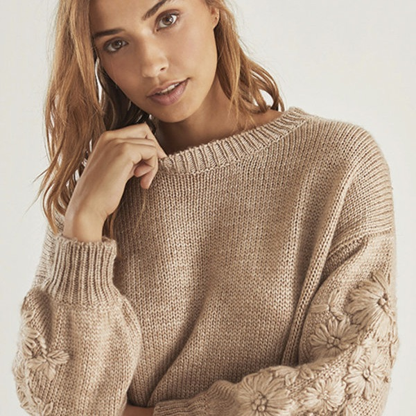 """Pullover """"Andria taupe"""""""