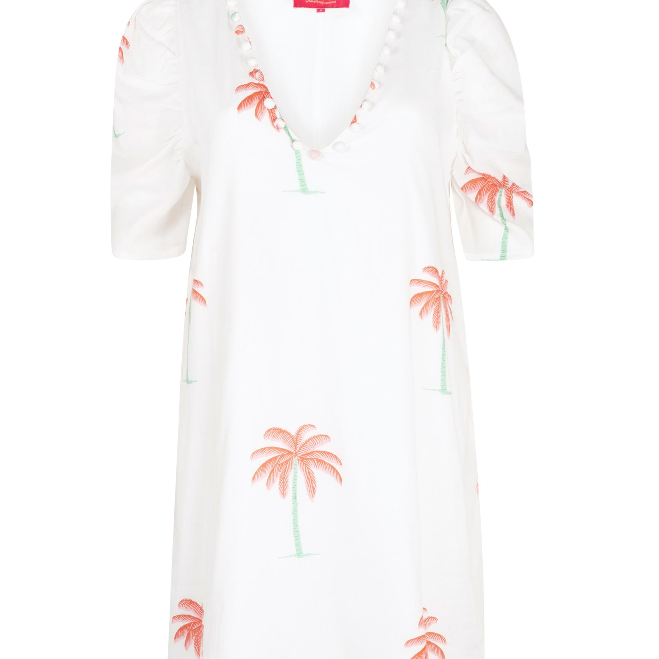 "Dress ""Short white palms"""