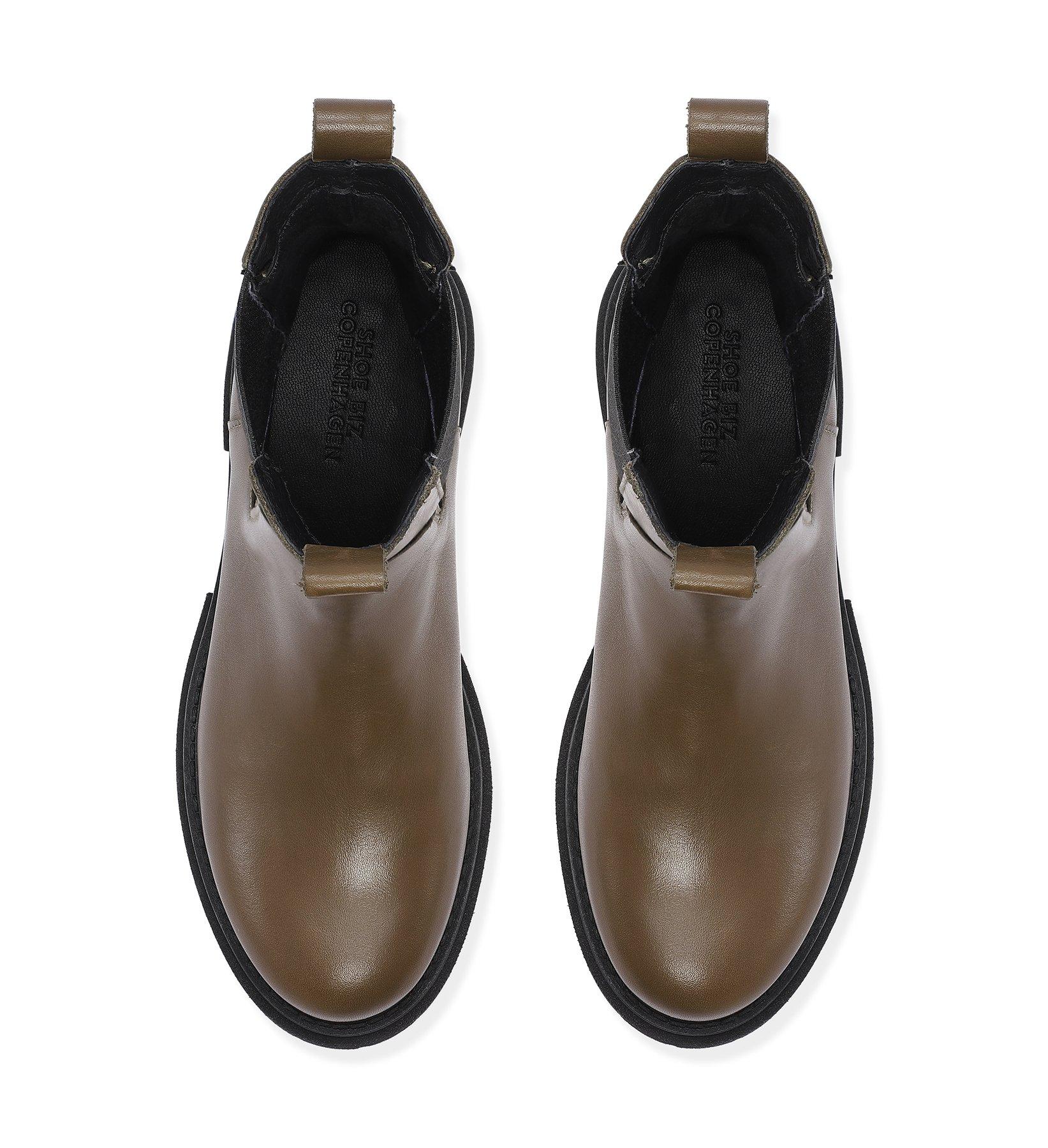 """Boots """"Prima khaki"""" Shoe biz Copenhagen"""