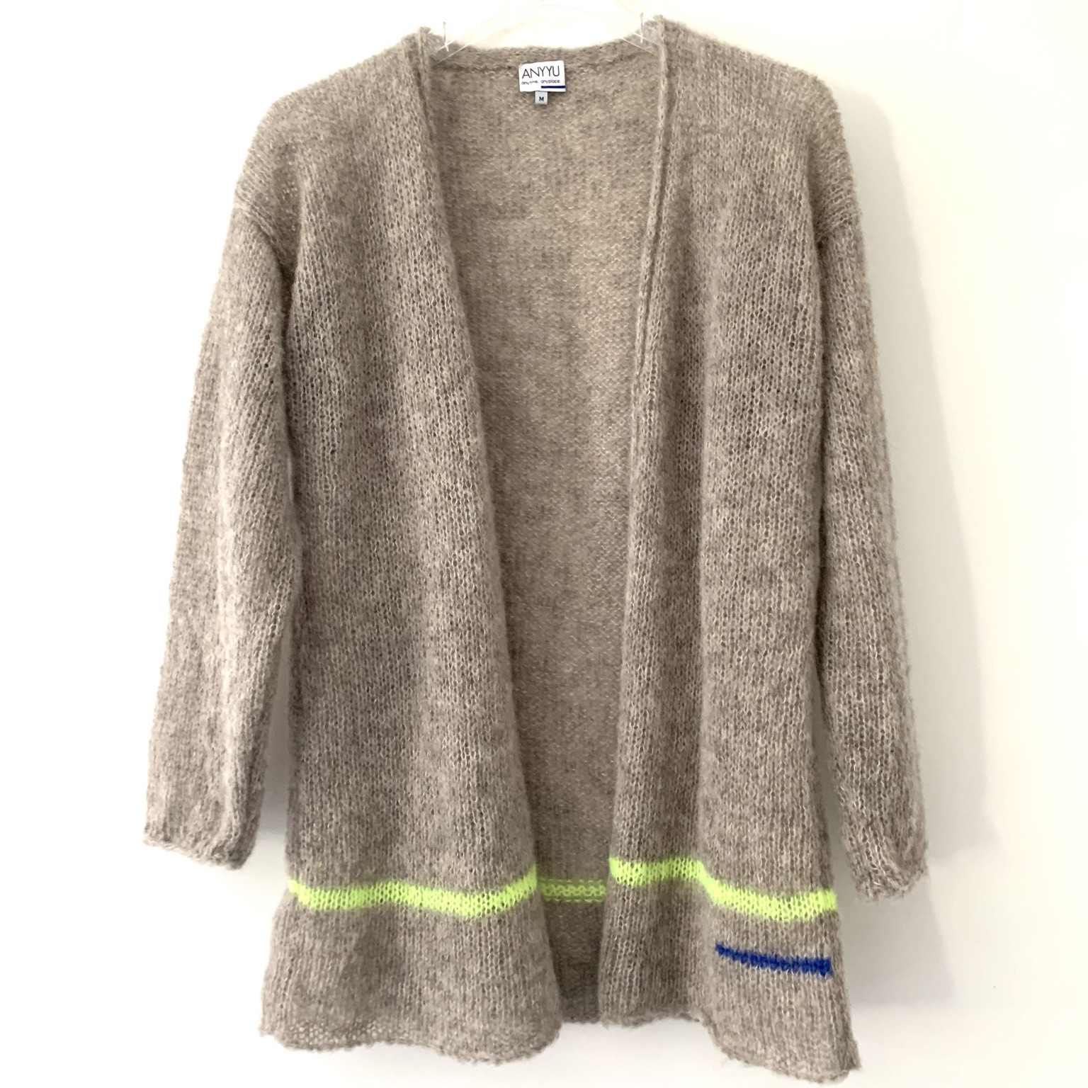 """Cardigan """"Lucca Neon"""" from Anyyu"""