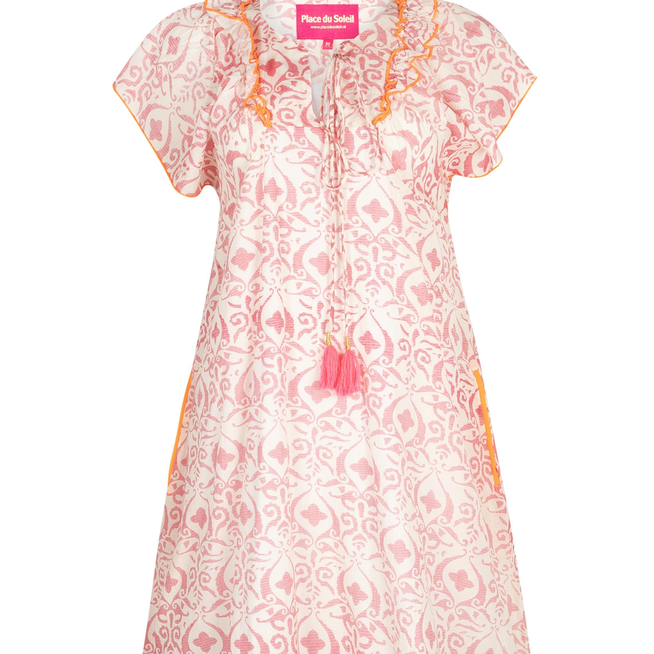 """Dress """"rosa white orange"""""""