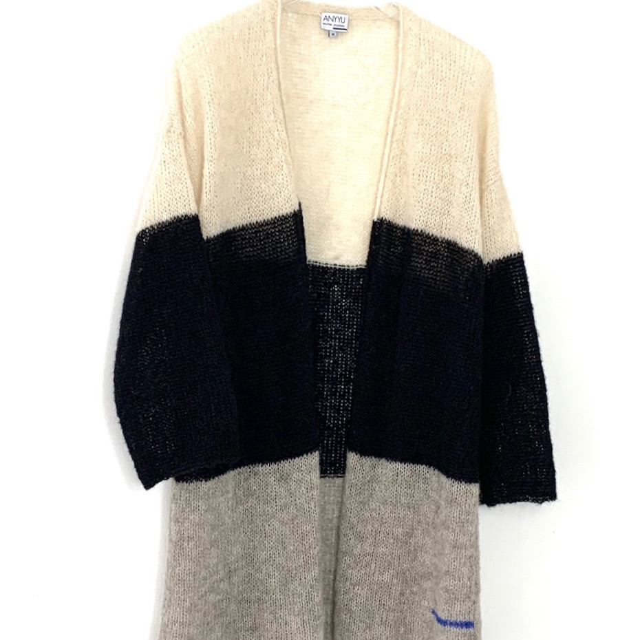 """Cardigan """"Livorno Tricolore"""" from Anyyu"""