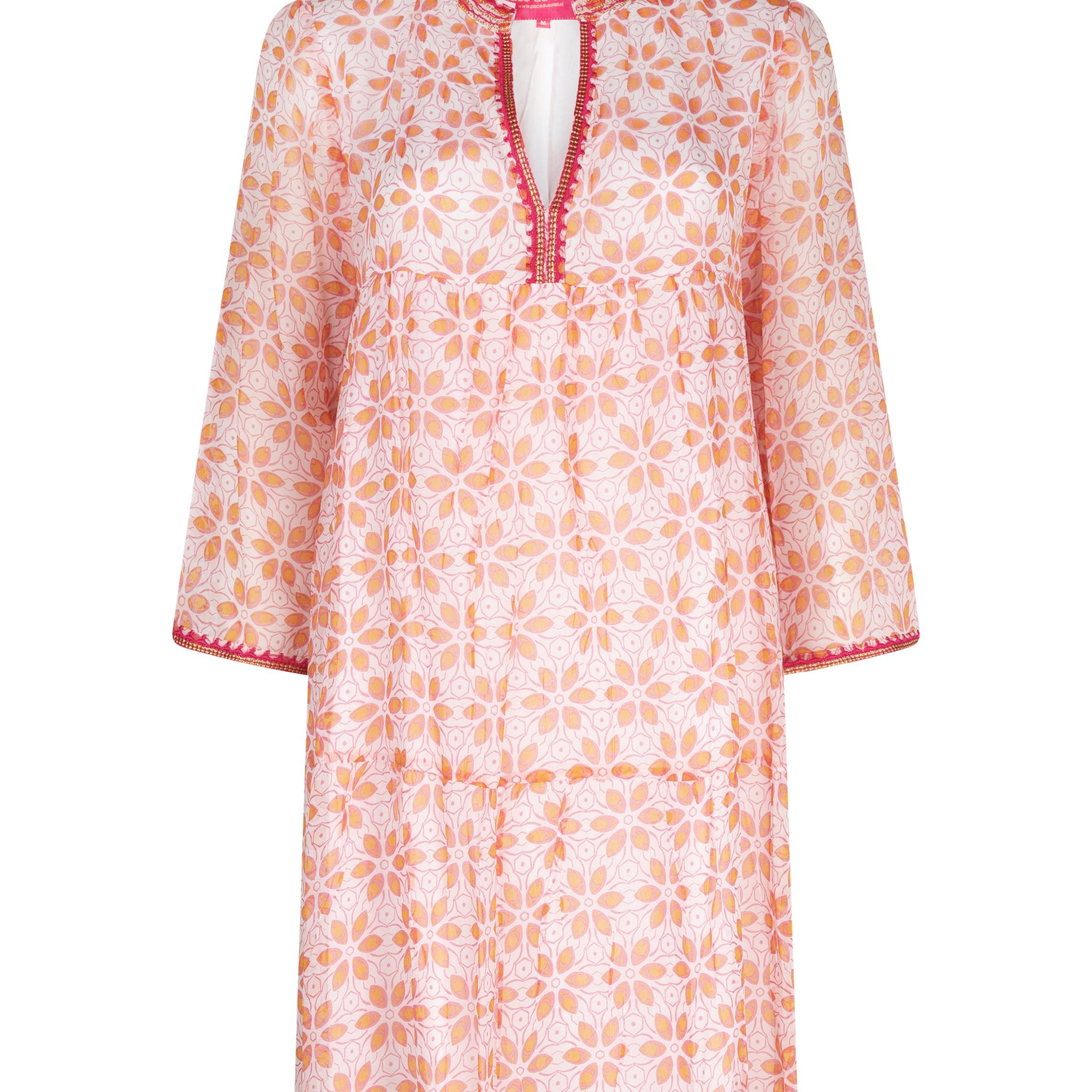"Dress ""Short rosa peach"""