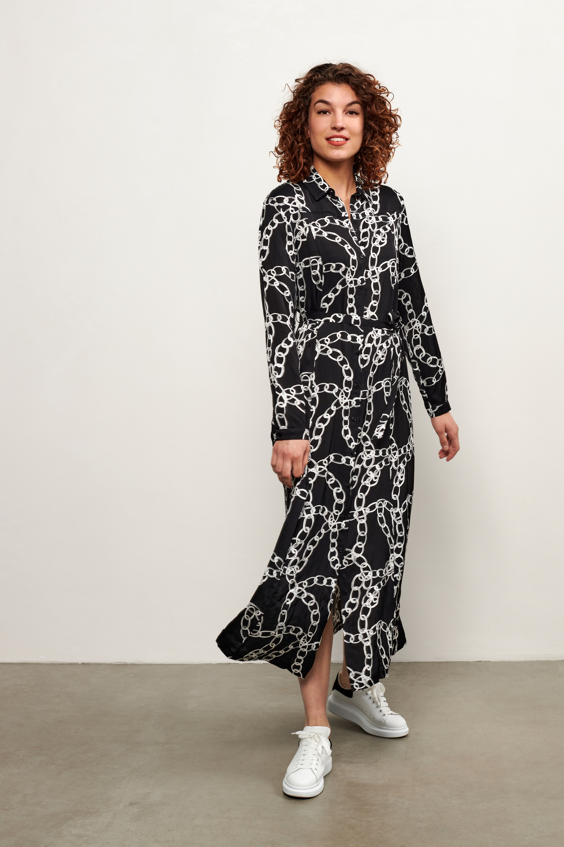 """Long dress """" Chain """" from Co&Woman"""