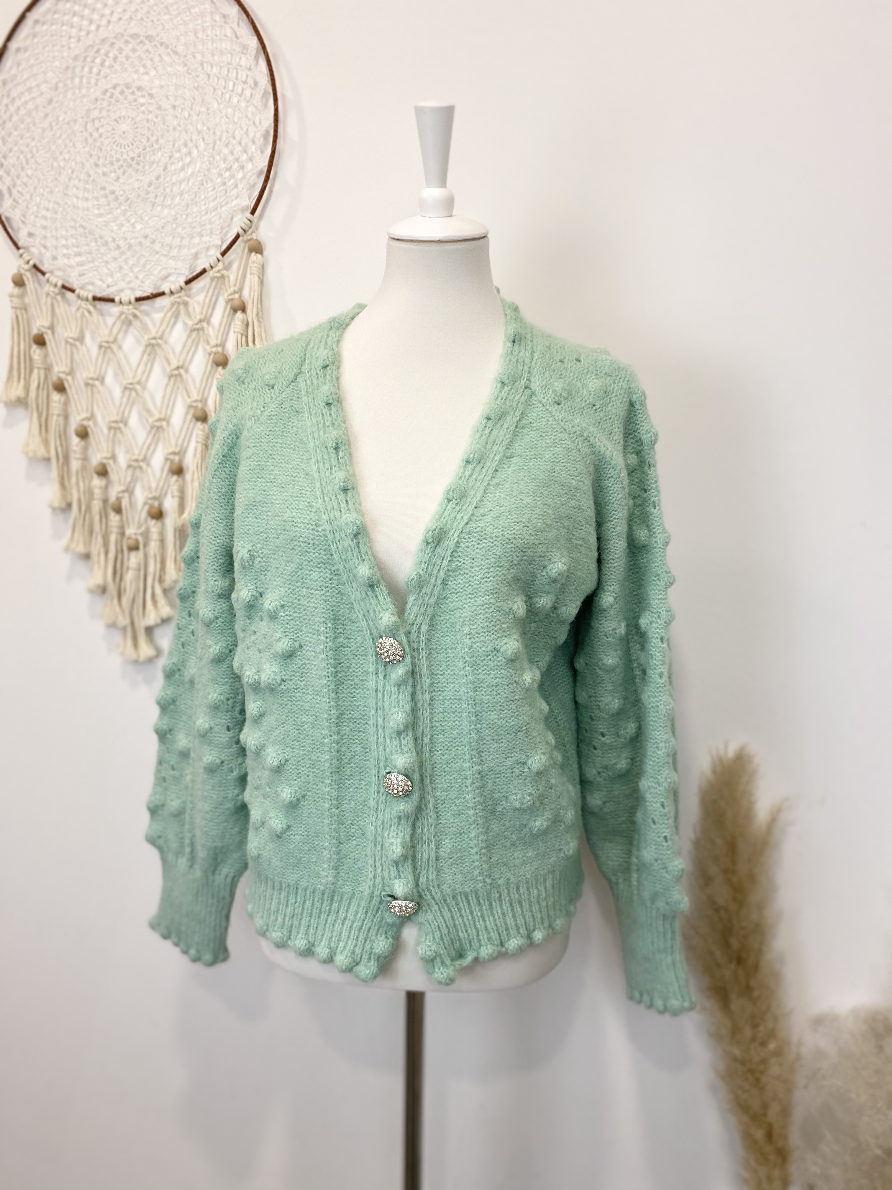 """Strickcardigan """"Colourful"""" from Kilky"""