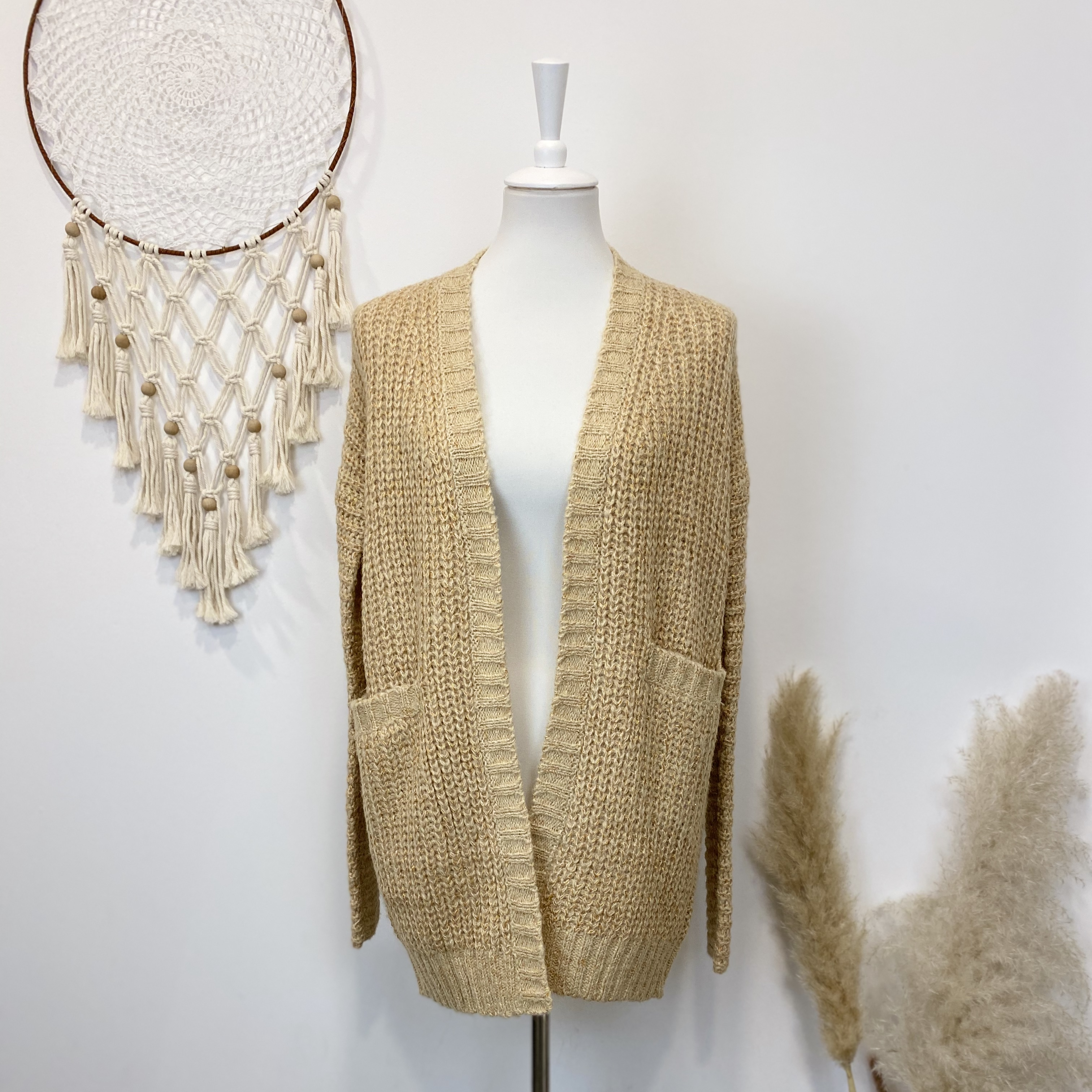 "Cardigan ""Gold"" from Sallys"