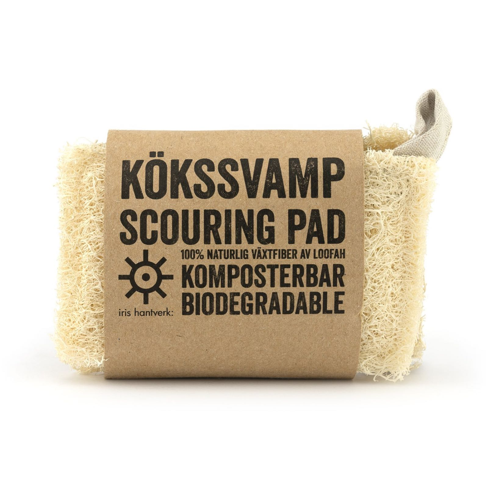 Kökssvamp Loofah, 2-pack