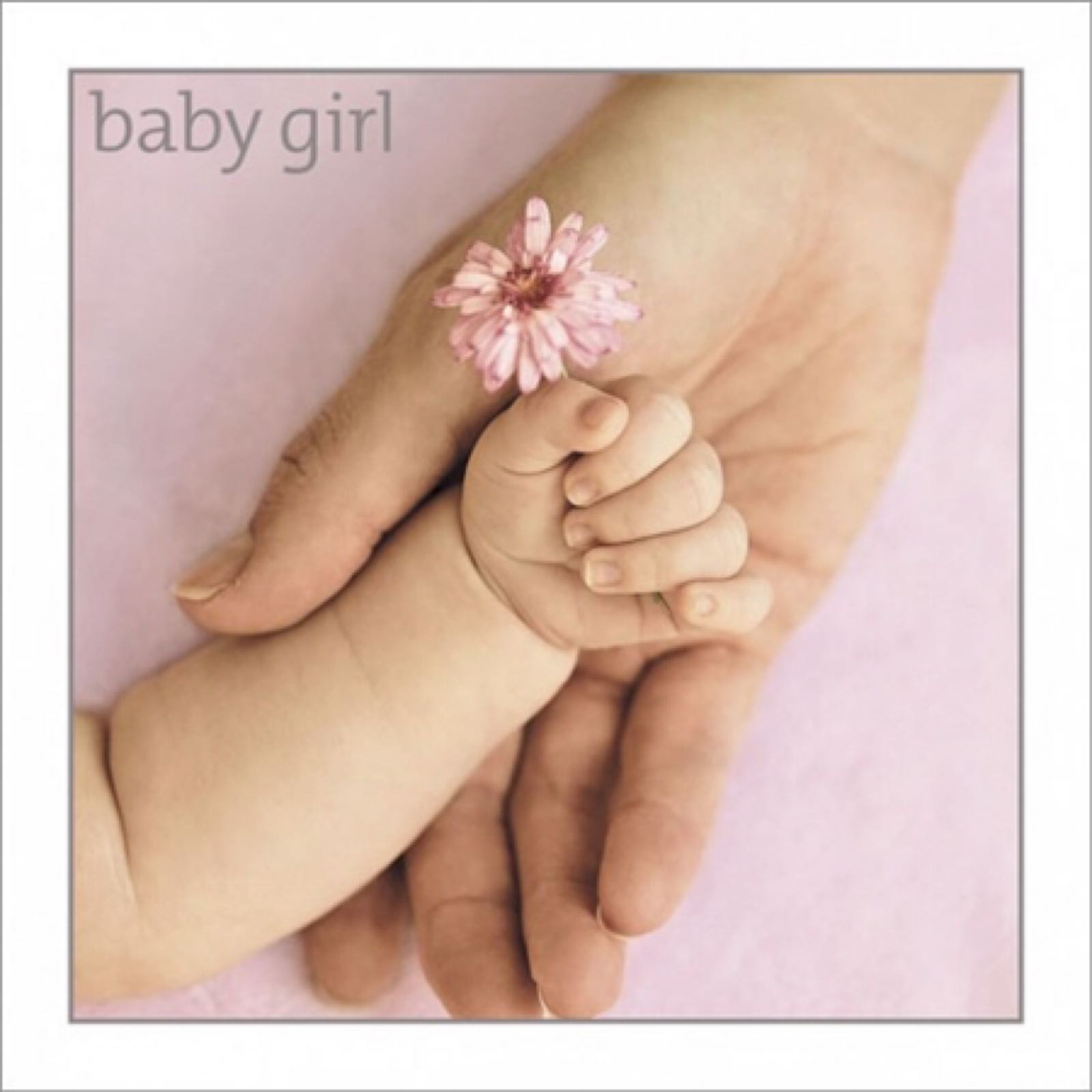 'Baby Girl' Exposure Card (Was £3.00)