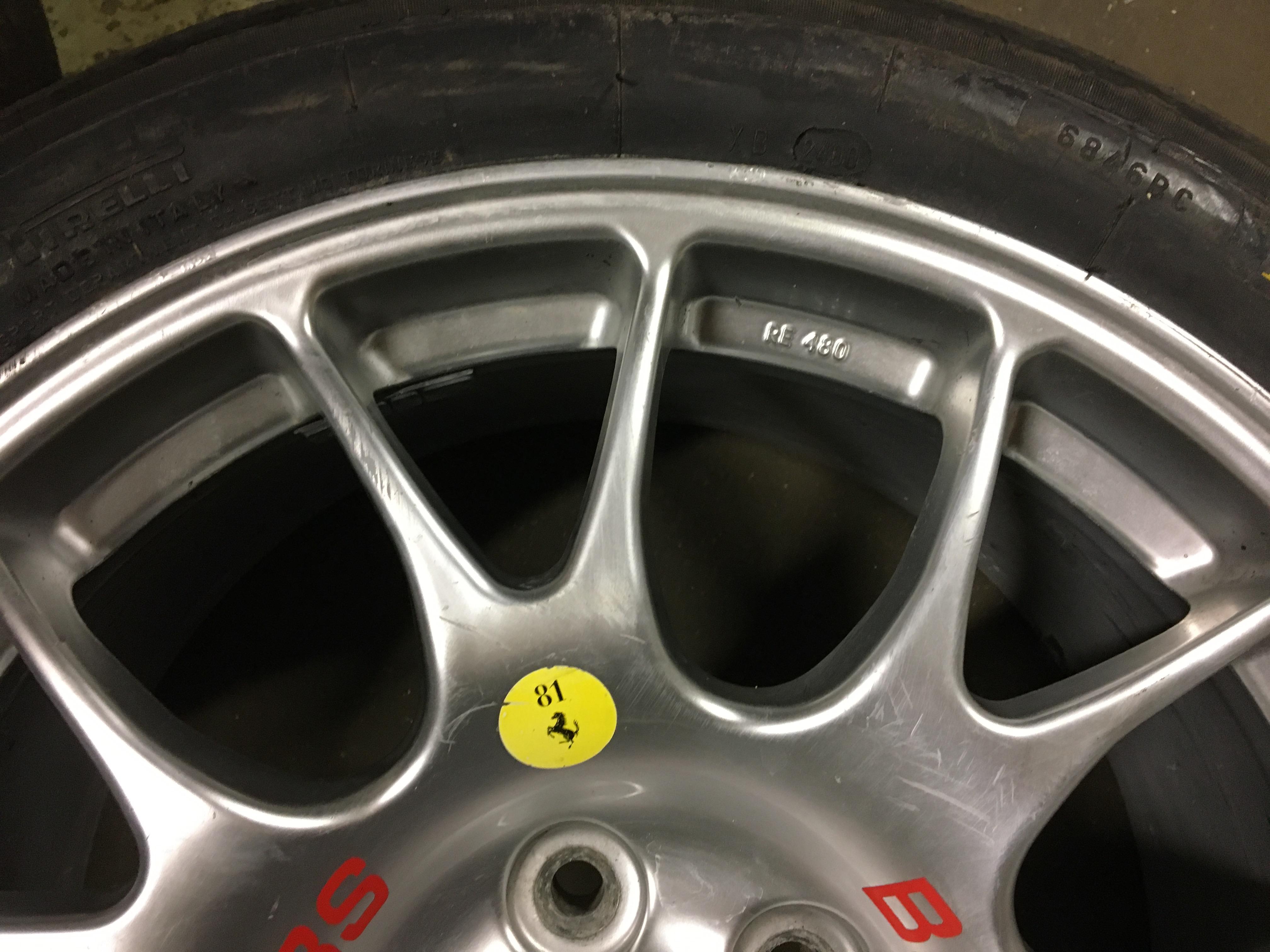 BBS Wheel Rim F360 Challenge