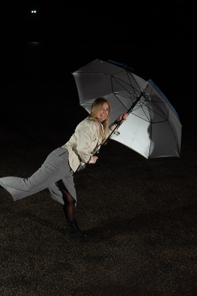 Umbrella with UV Protection / Large Golf