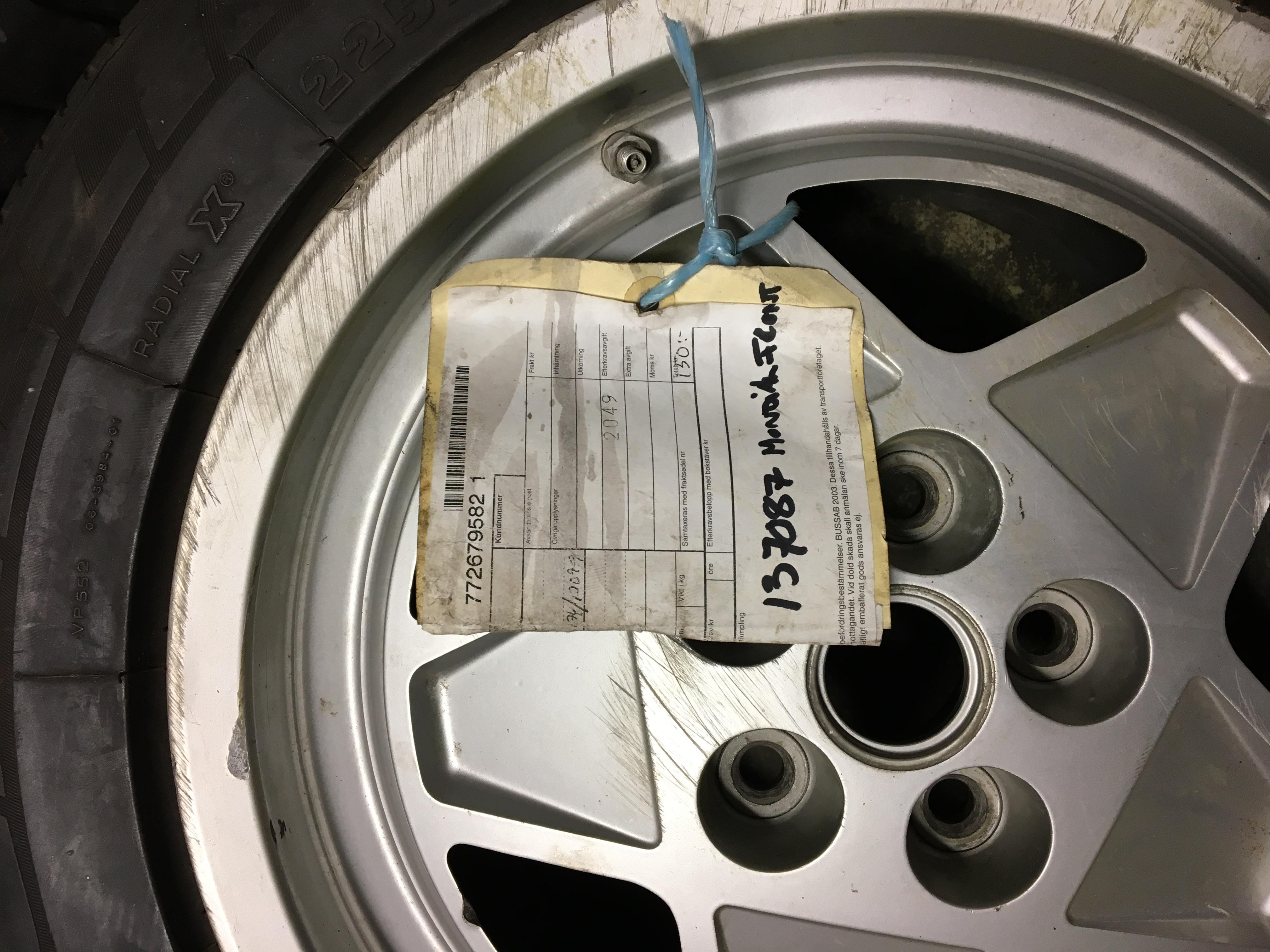 Rear Wheel Mondial 3,4 t