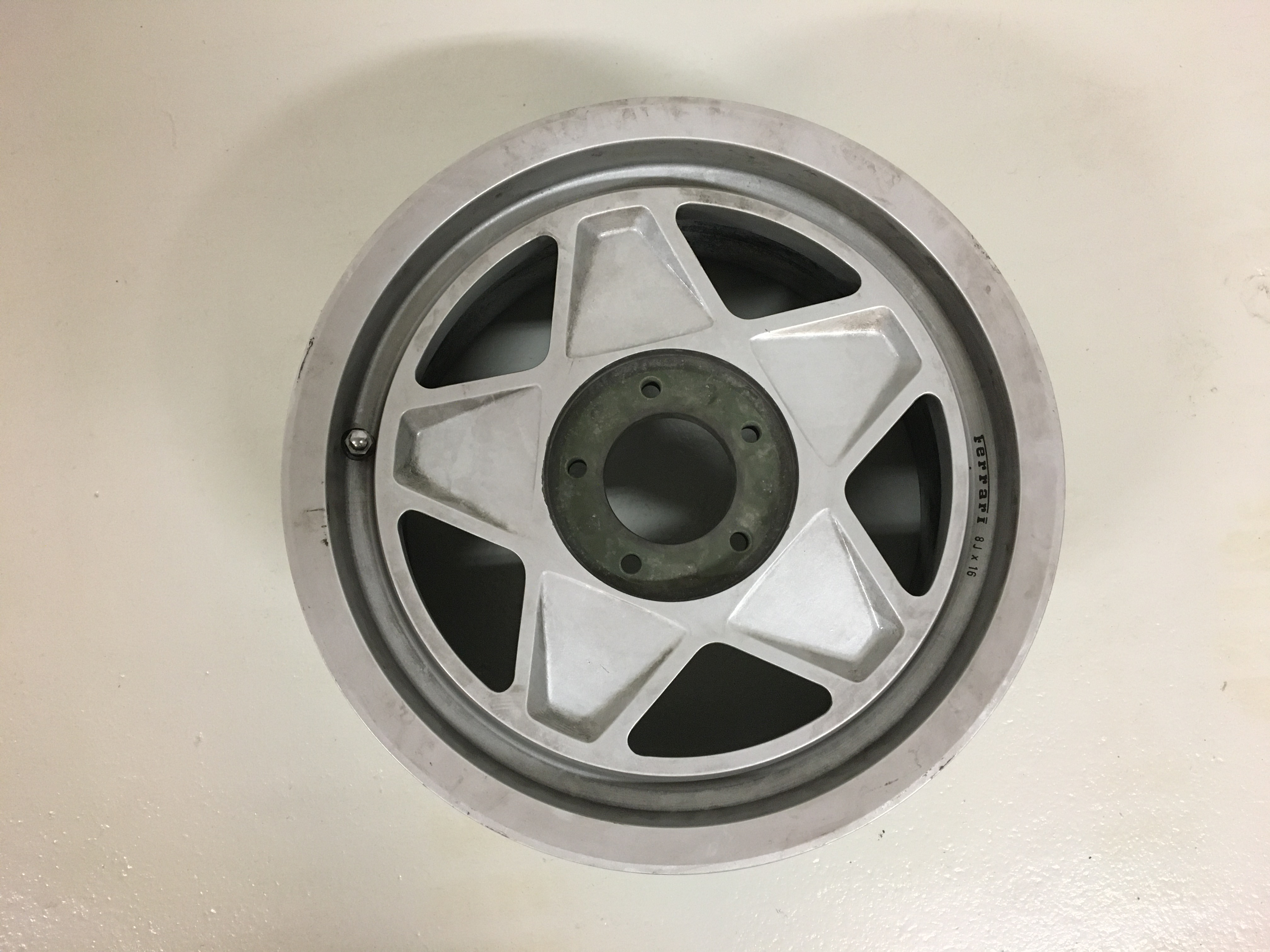 Front Wheel Testarossa