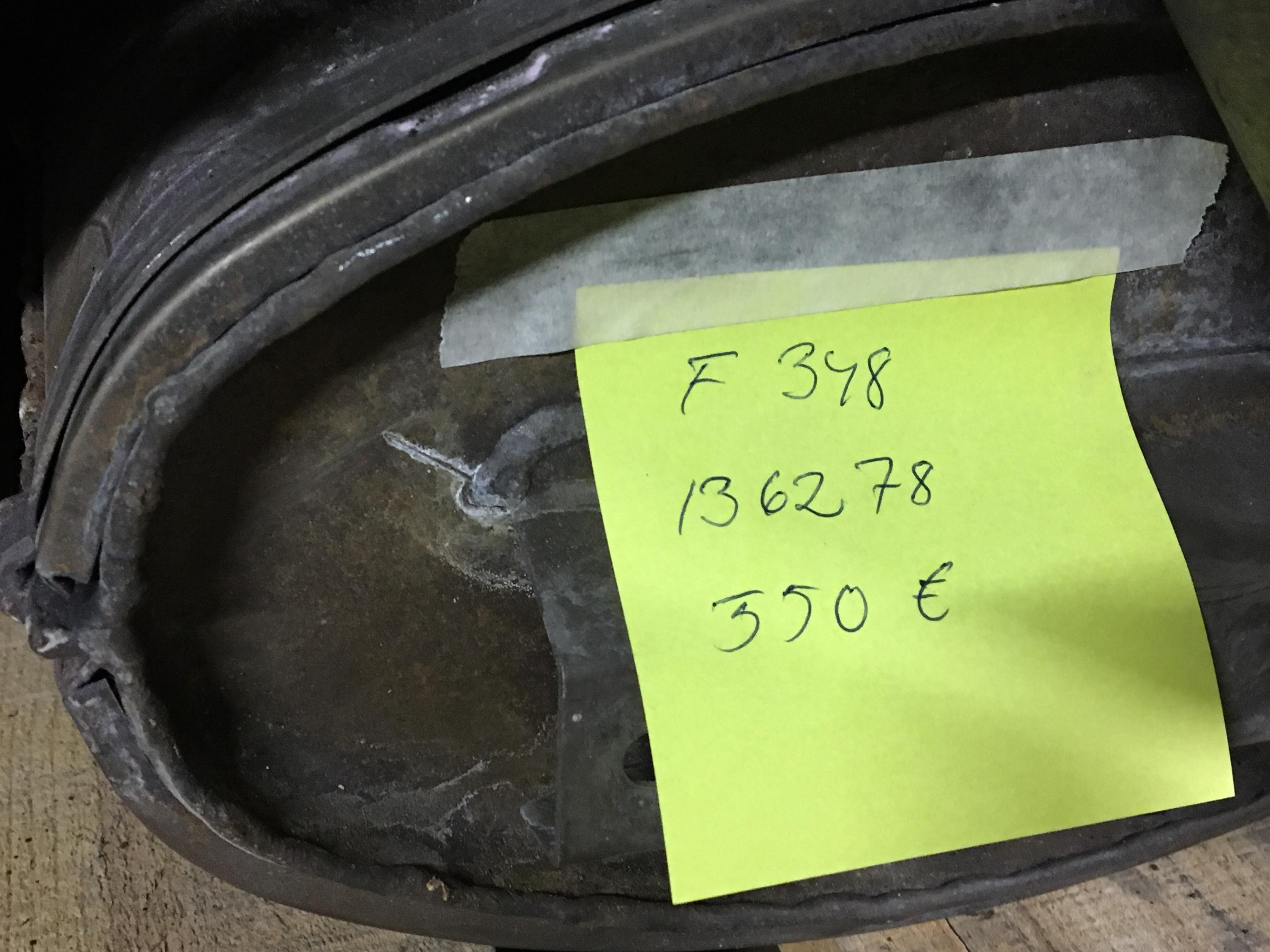 Exhaust Muffler F348 tb/ts