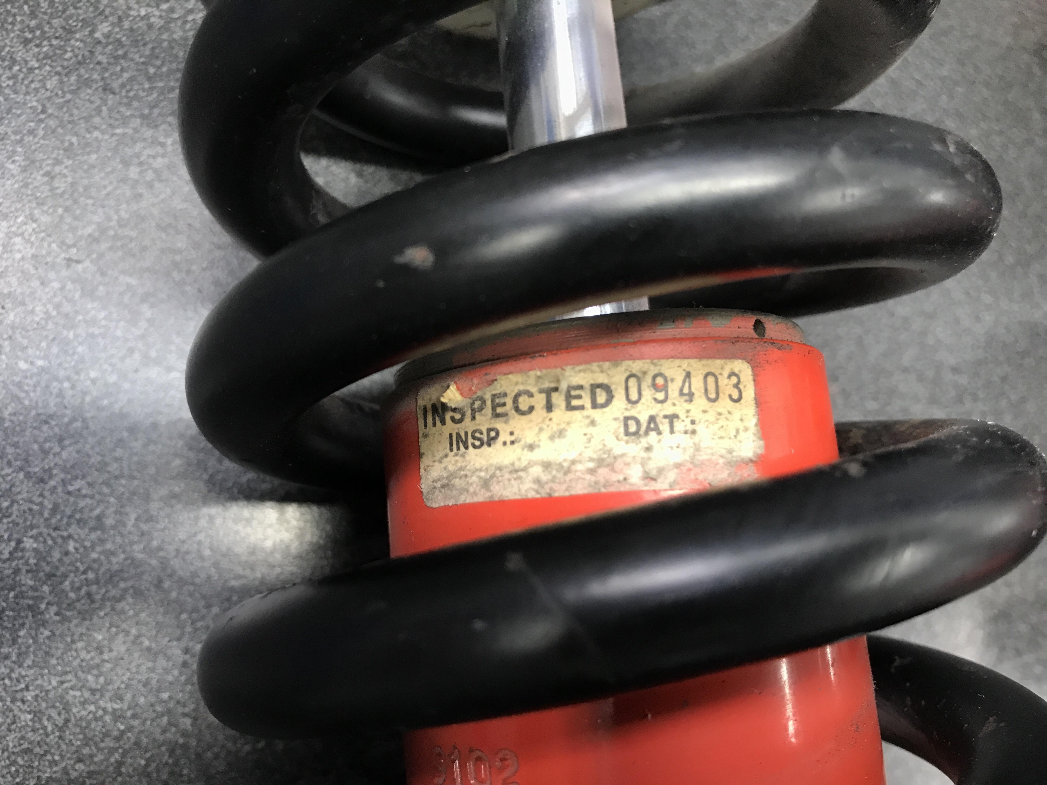 Compl Rear Shook Absorber / Coil Over F40