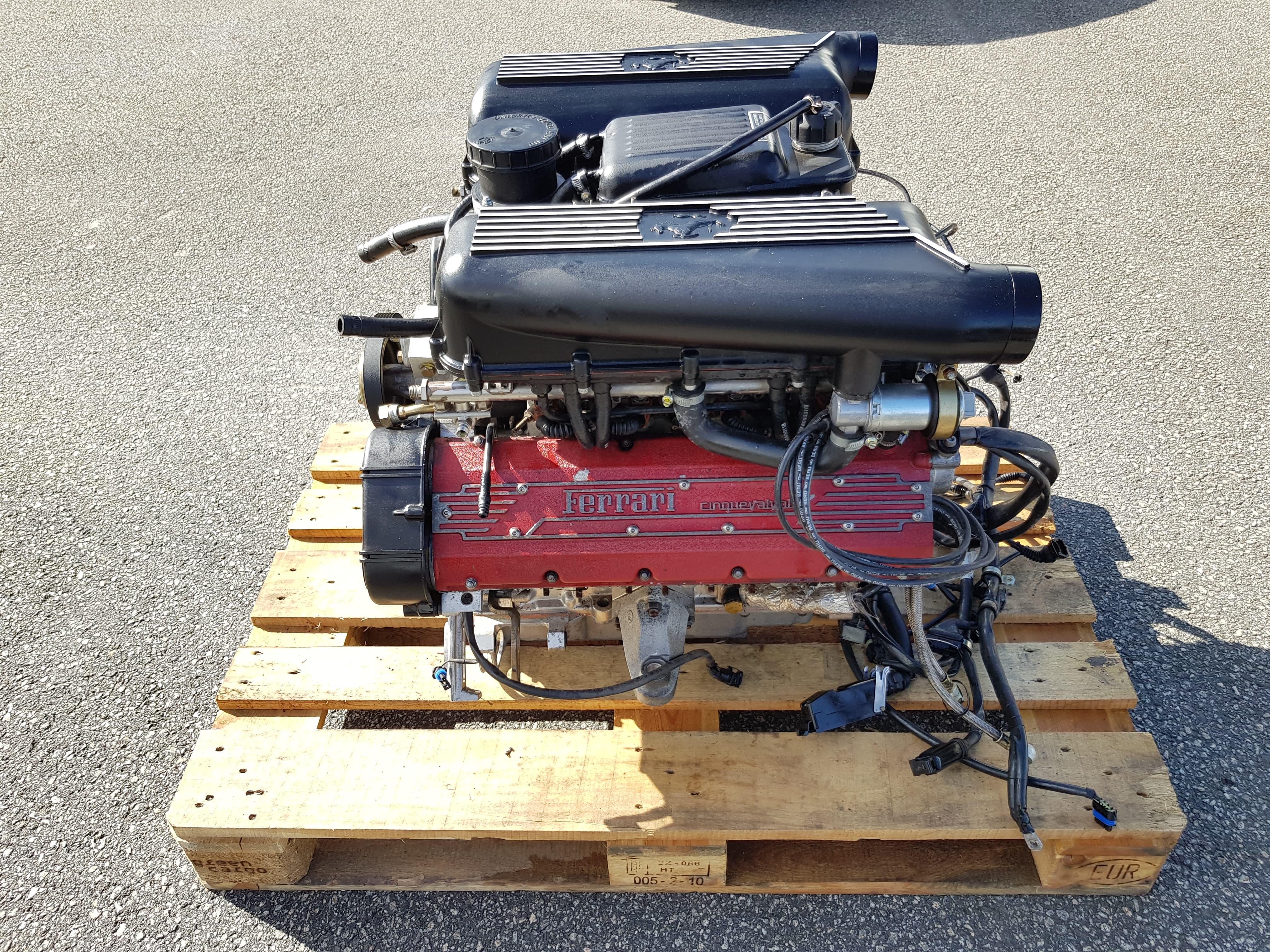 F355 Engine Complete (exchange) 2.7 Motronic, 12500 km