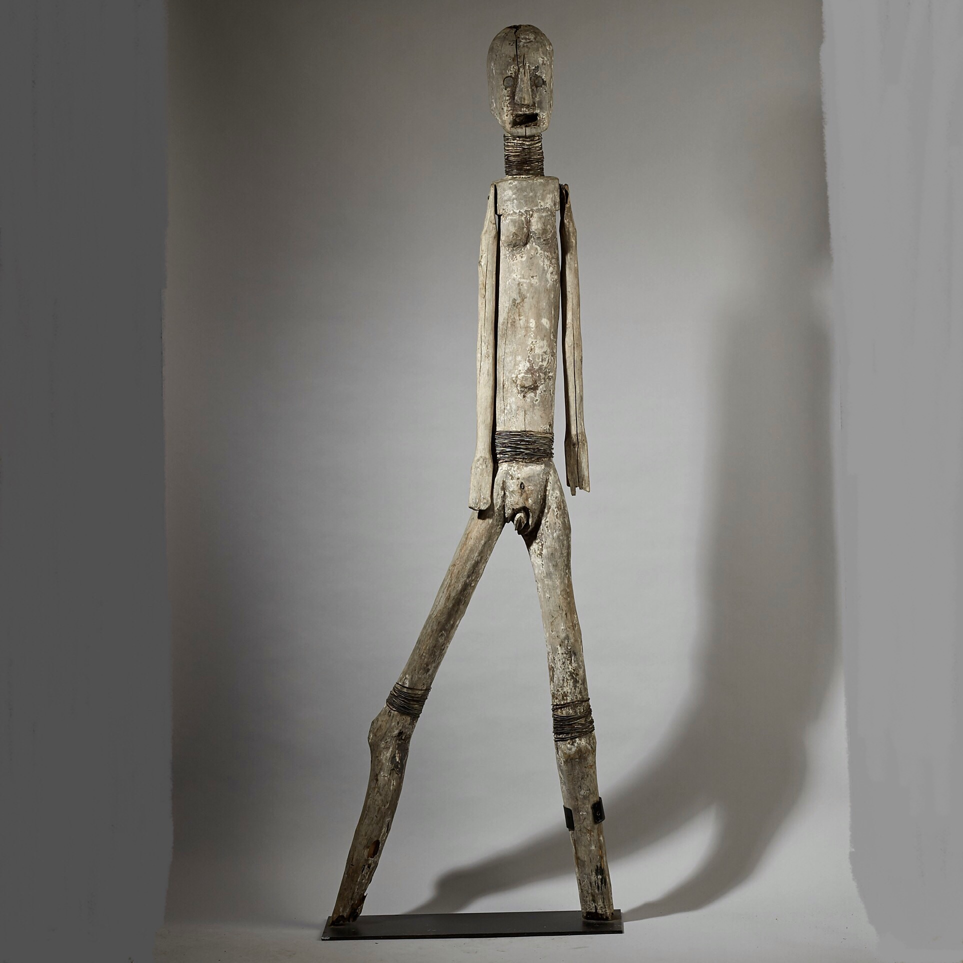 reserved A GIANT ( 175CM) SUKUMA ALTAR FIGURE FROM TANZANIA ( No 2914 ) EU POSTAGE ONLY