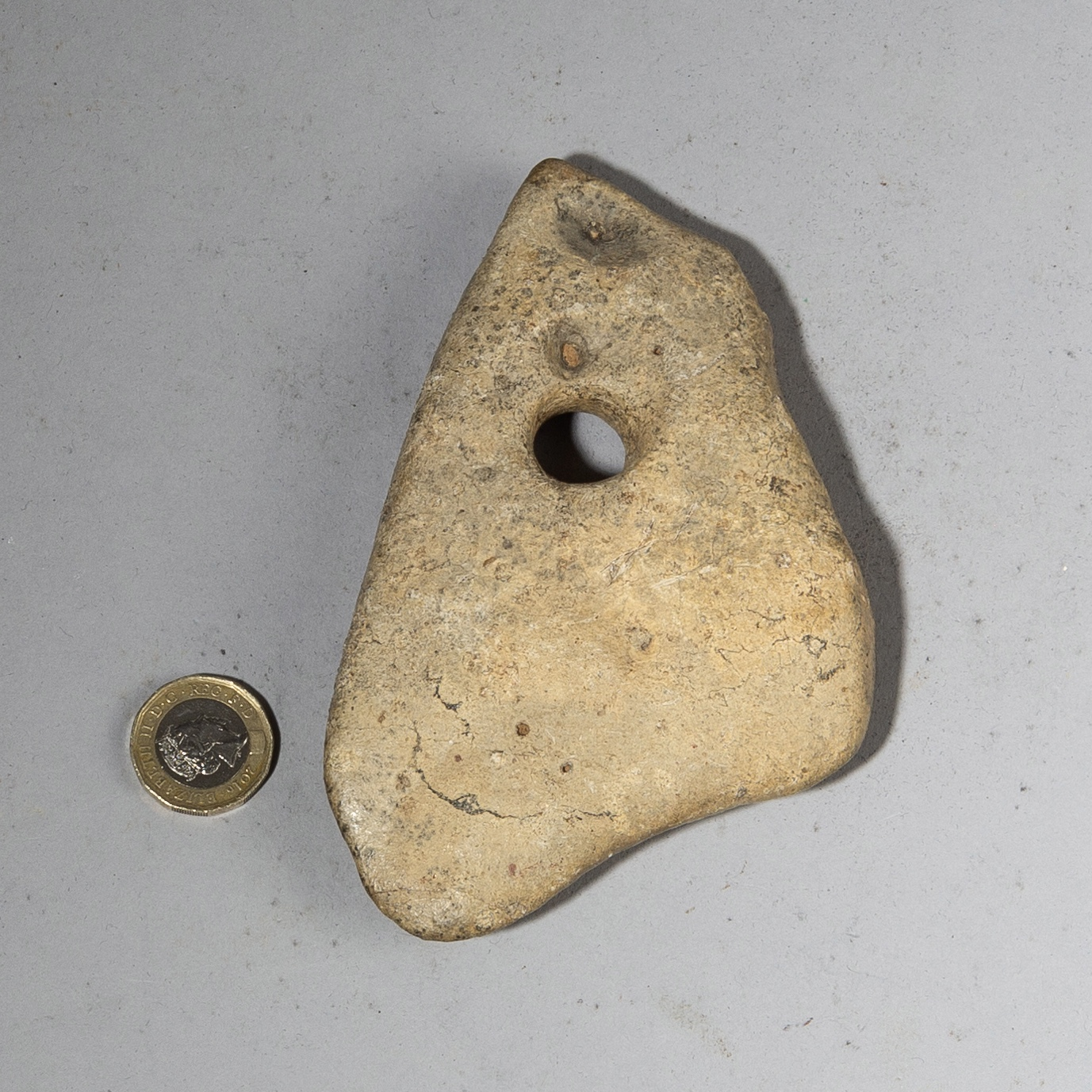 AN UNUSUAL OLD STONE CURRENCY FROM THE SAHARA( No 3653)