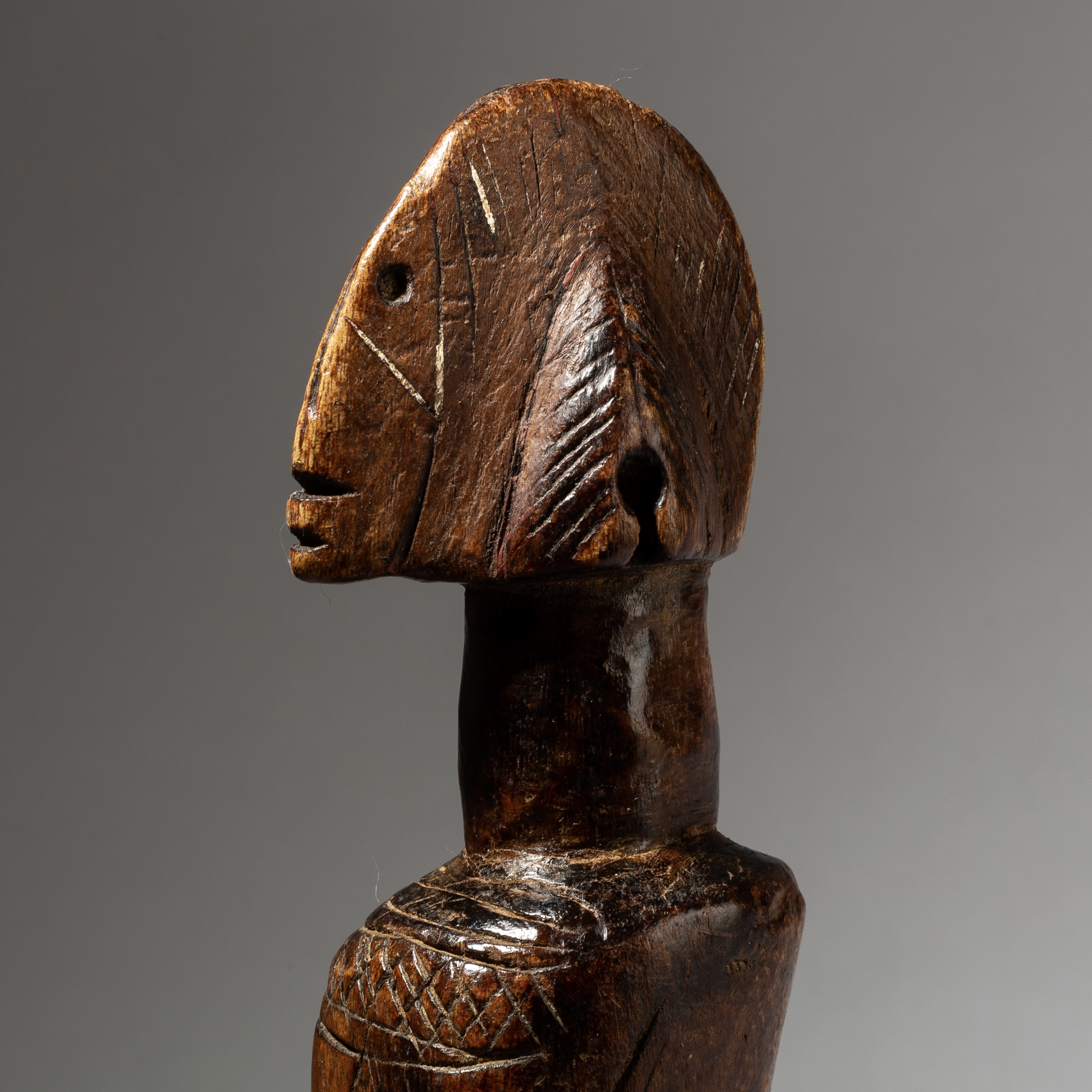 A LUSCIOUS MOSSI DOLL FROM BURKINA FASO W AFRICA ( No 4148)
