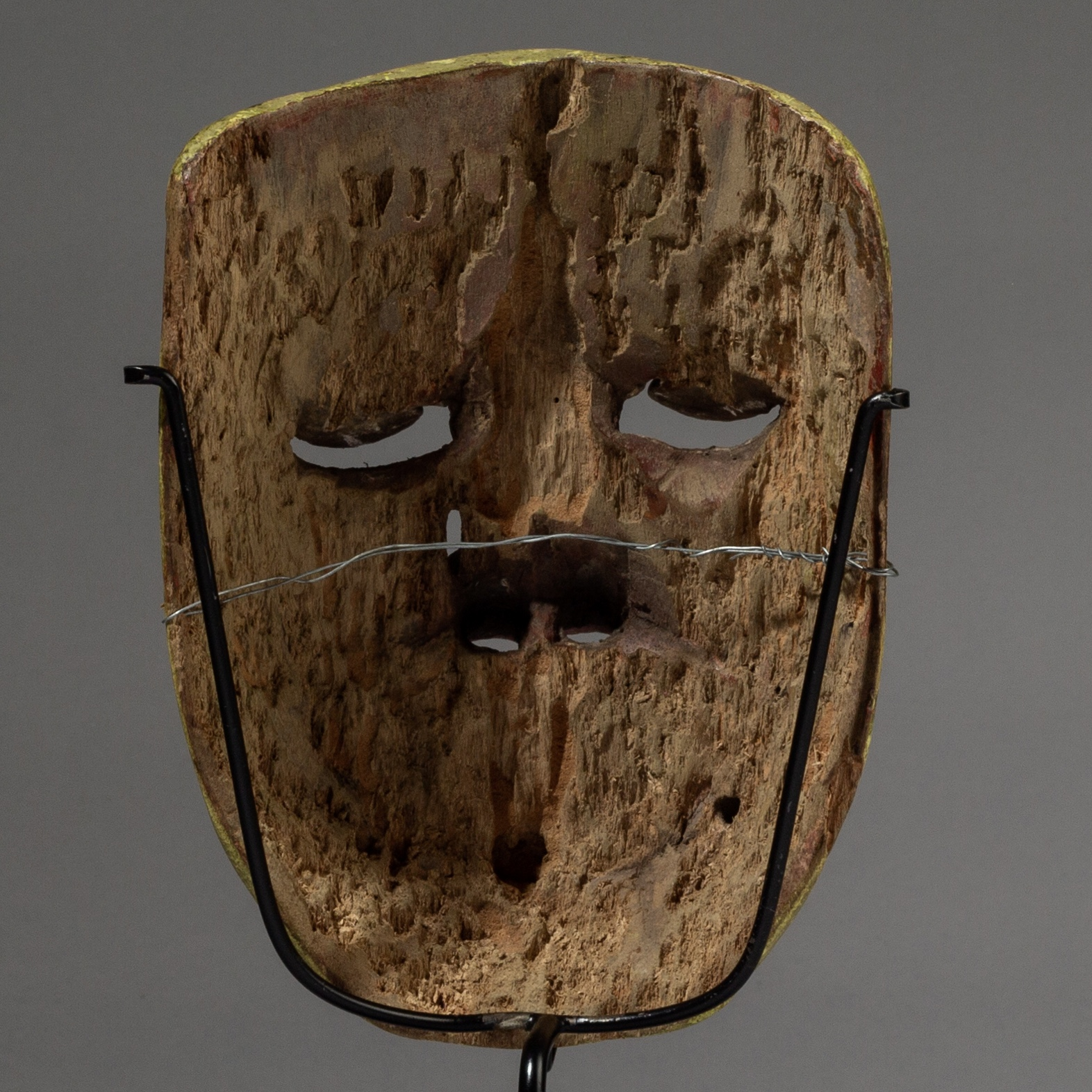 SD A WELL PATINATED THEATRE MASK FROM JAVA, ( No 3221 )