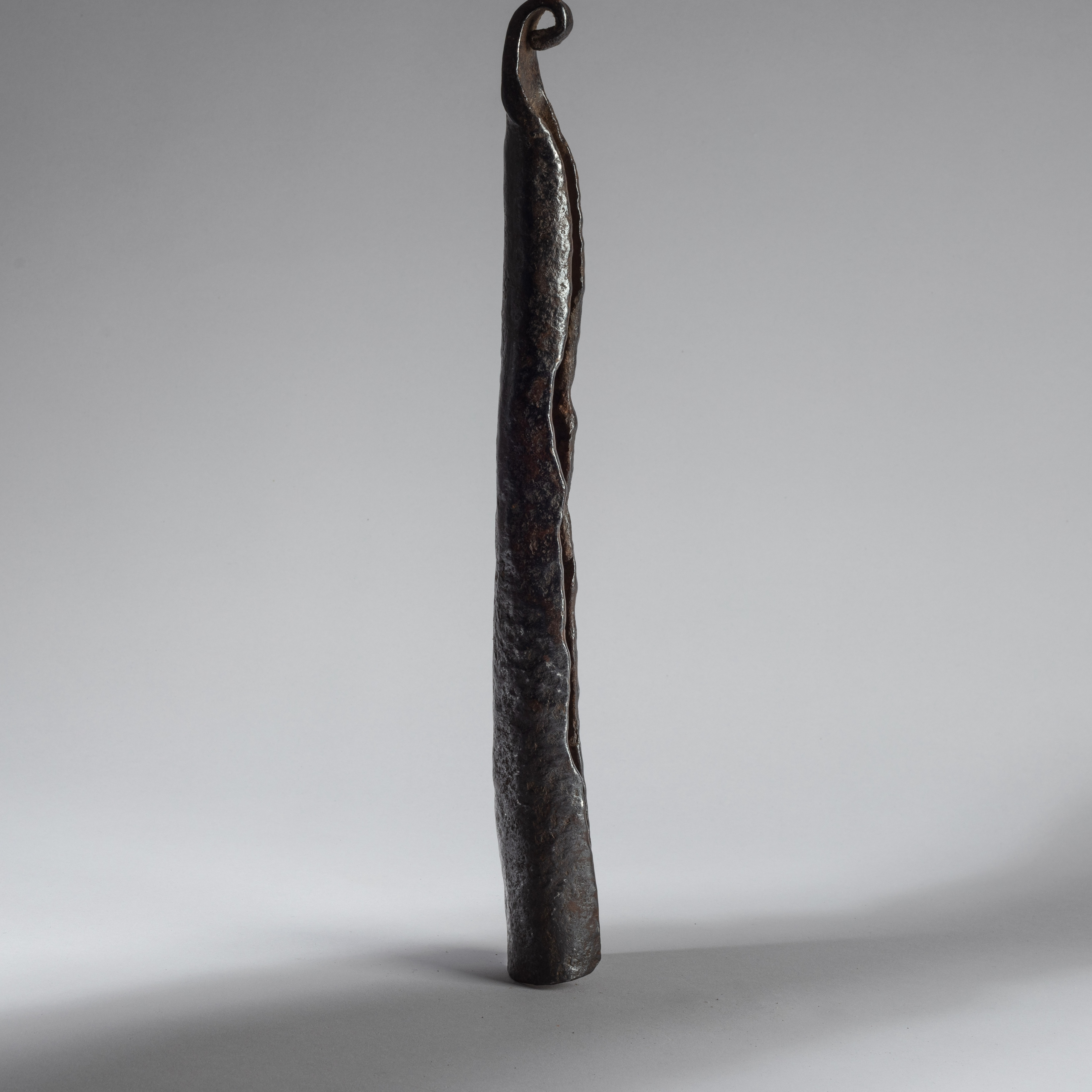 A TALL ANTHROPOMORPHIC BELL FROM CAMEROON ( No 4273)