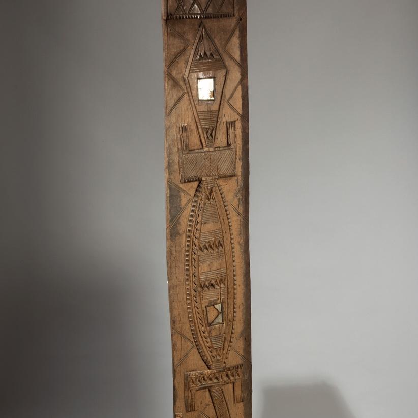 A CROCODILE DOOR PANEL NUPE TRIBE NIGERIA  ( No 4245)