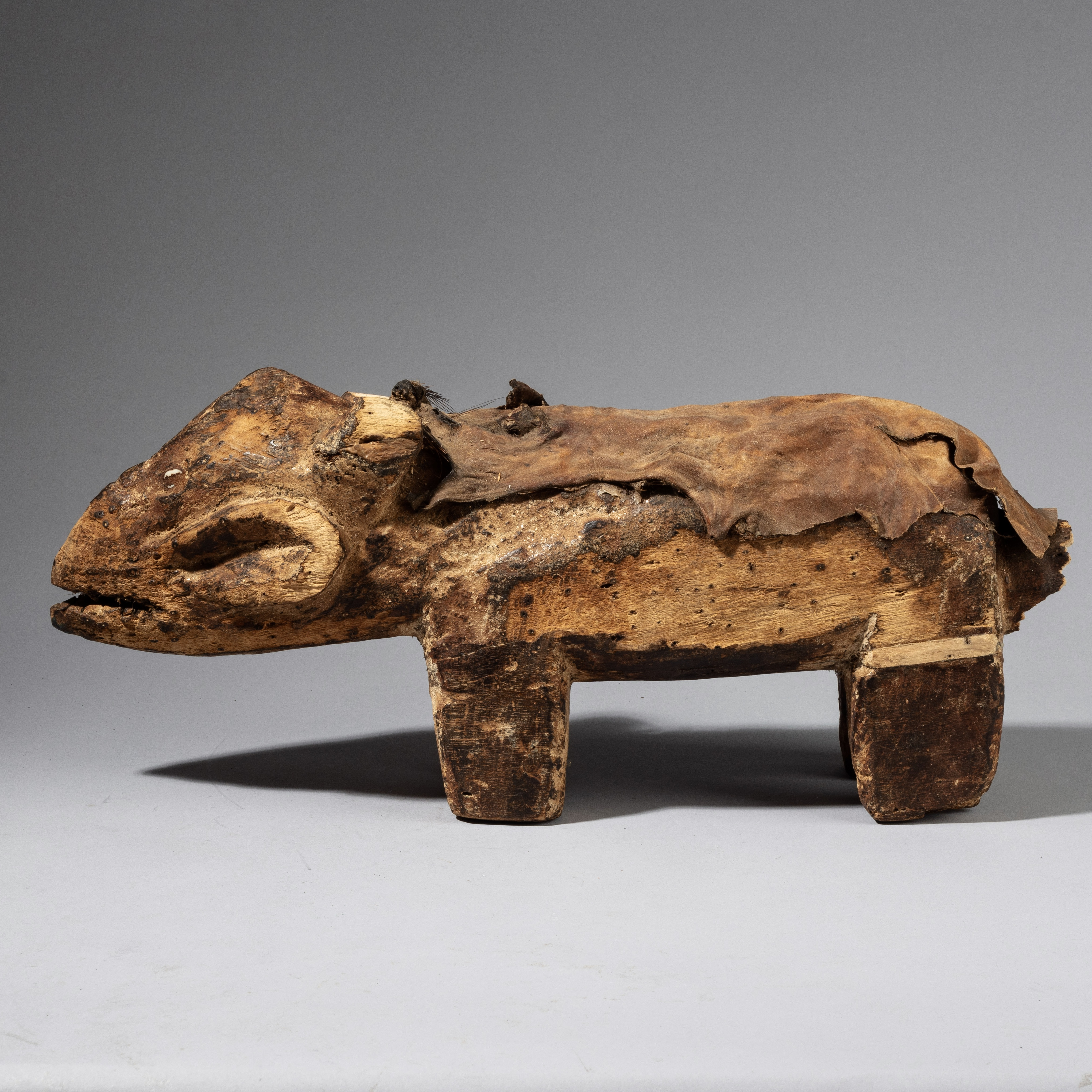 A LARGE LEGA DIVINATION ANIMAL FROM THE CONGO  ( No 4269)