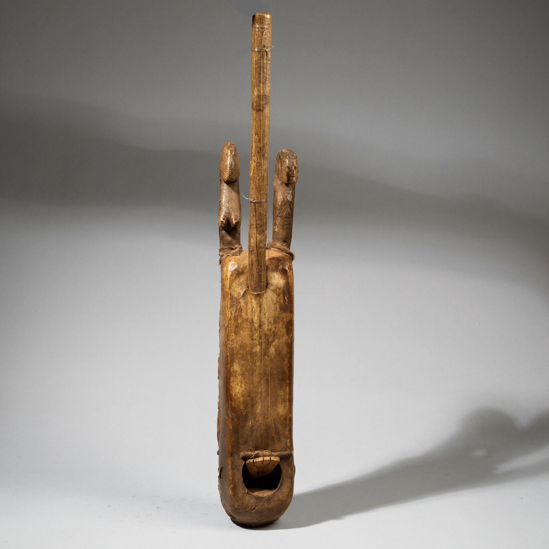 A FIGURATIVE MUSICAL INSTRUMENT, MOSSI TRIBE BURKINA FASO ( No 4415)