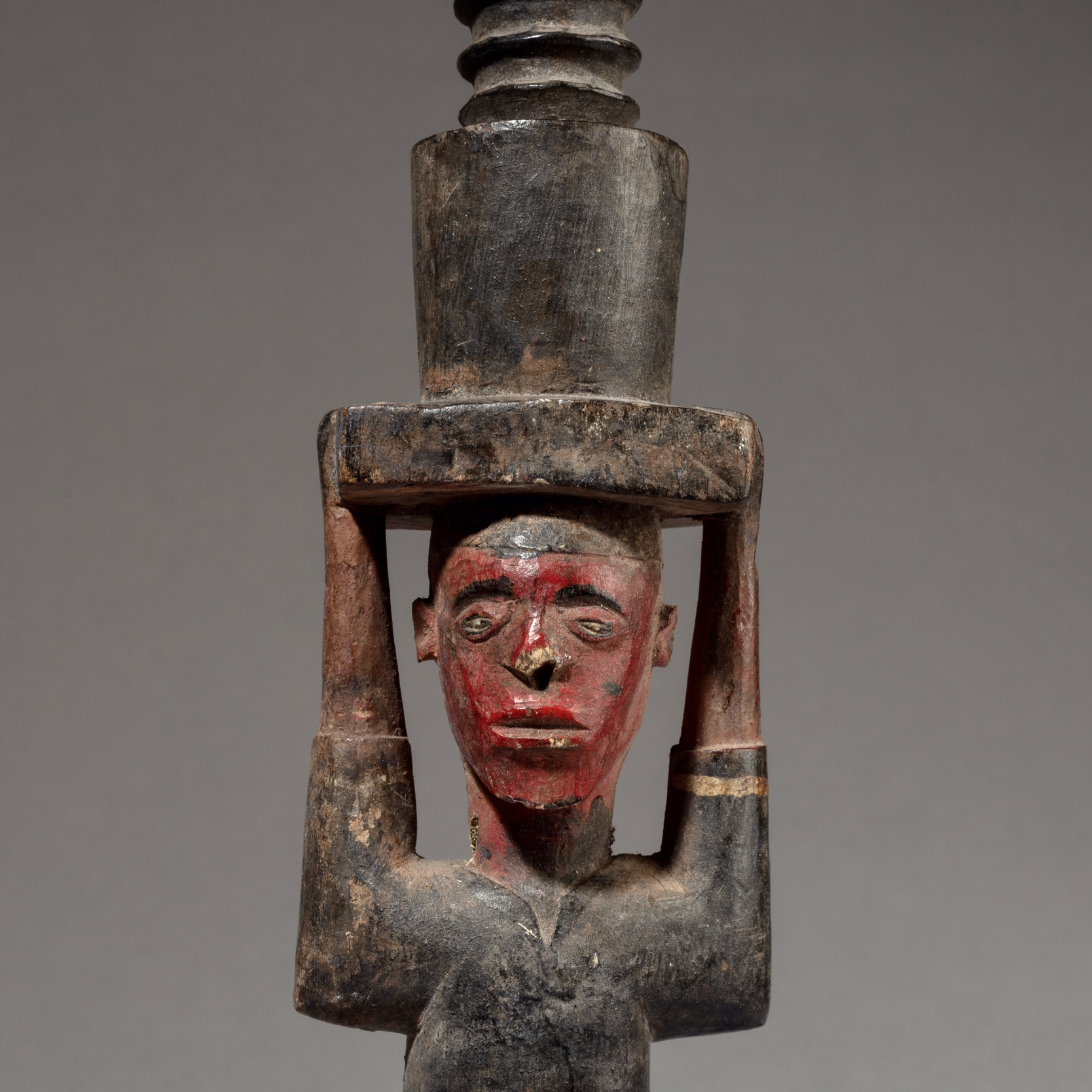 AN INTERESTING COLON FIGURE FROM IVORY COAST ( No 3465 )