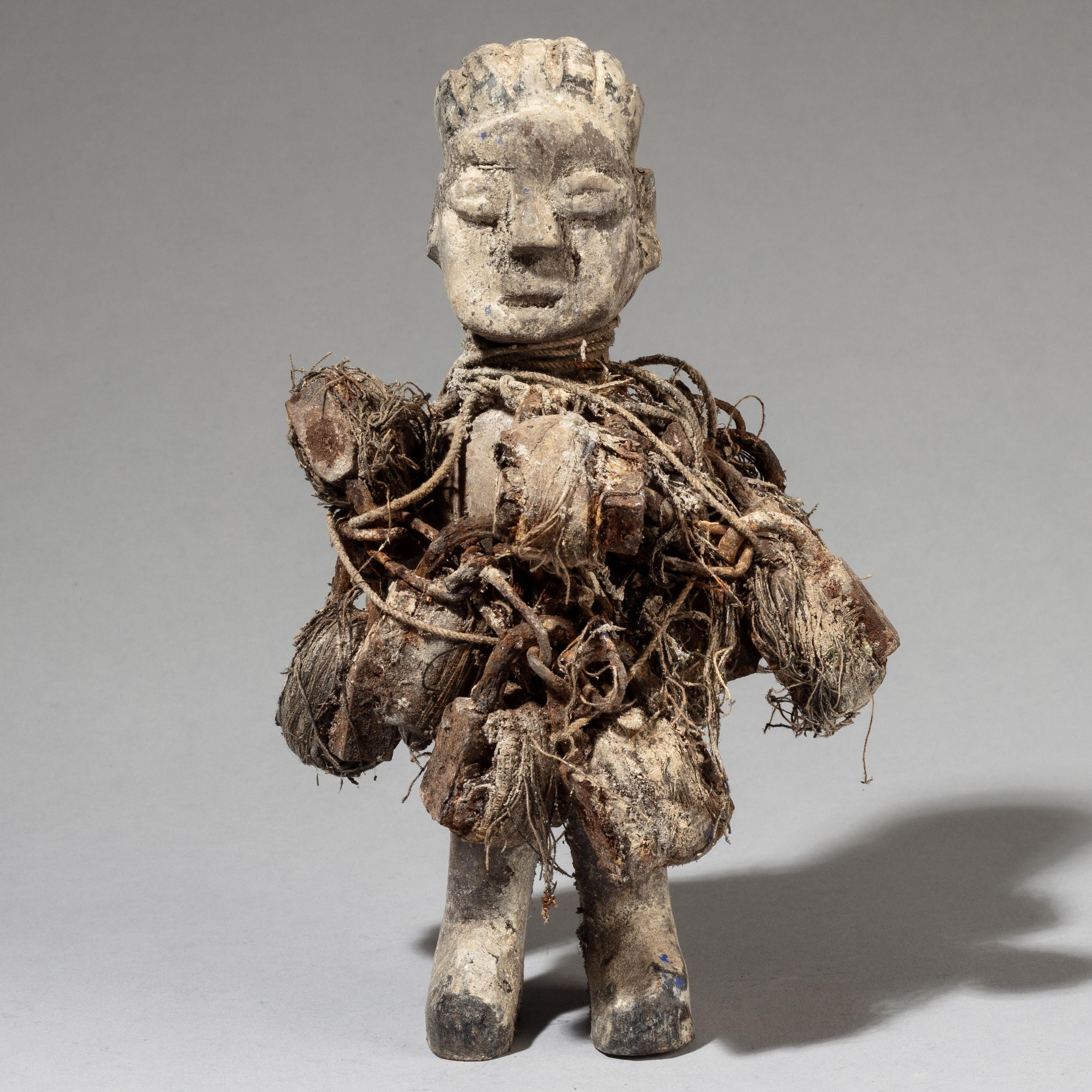 A TEXTURAL LOCK FETISH, EWE TRIBE OF GHANA ( No 3480 )