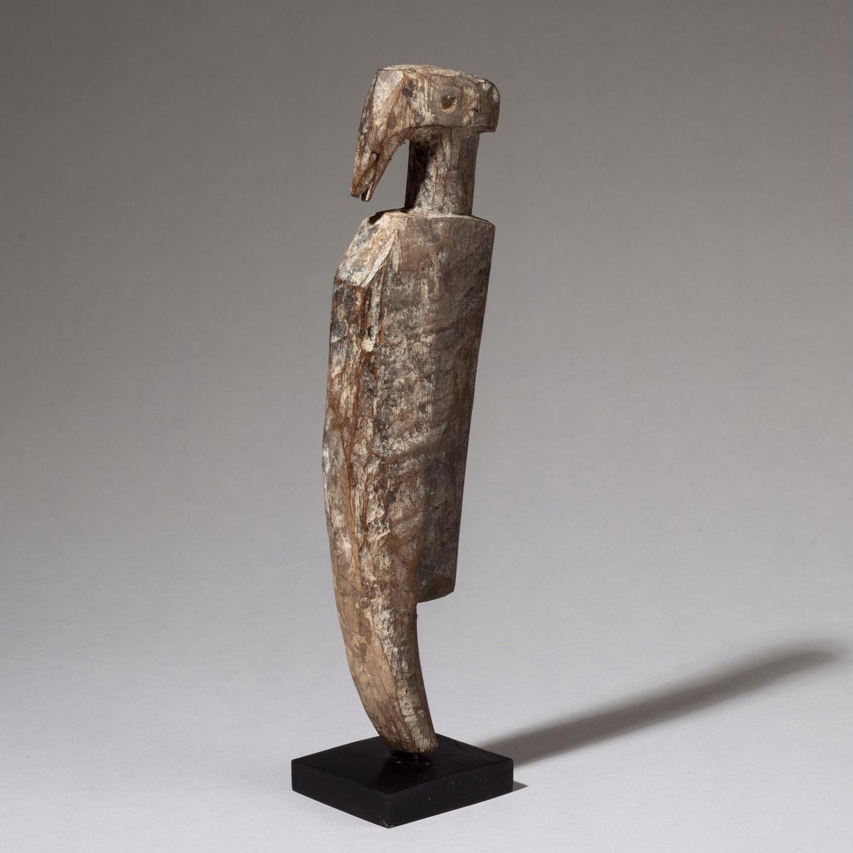 A STYLISH ADAN BIRD NATURE SPIRIT, GHANA ( No 3337 )