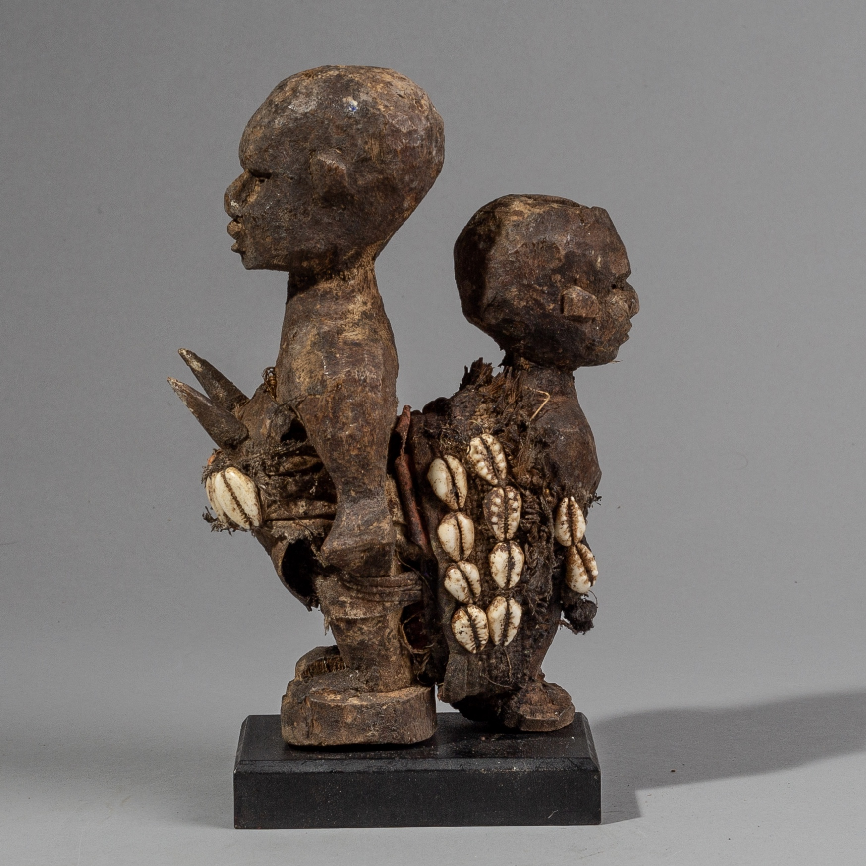 A CURIOUS FETISH COUPLE FROM EWE TRIBE BENIN( No 1593 )
